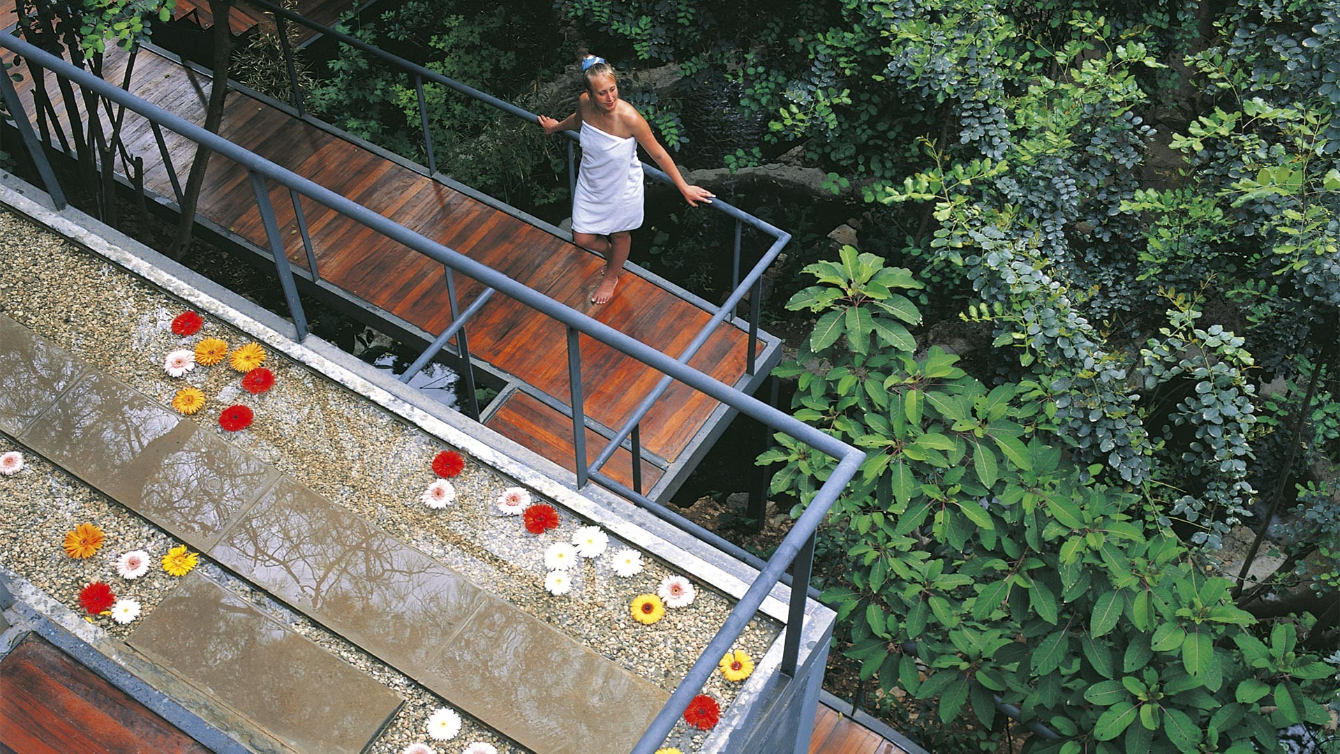 Treetop spa at Hillside Beach Club in Turkey