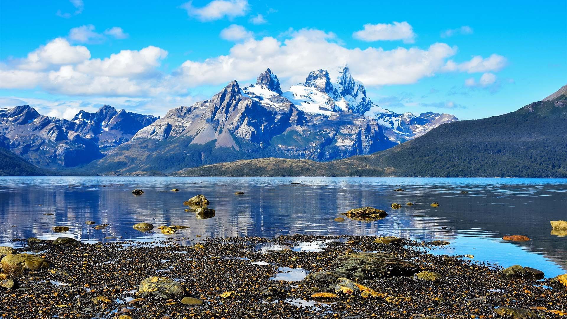 The Darwin Range in Tierra del Fuego, Patagonia