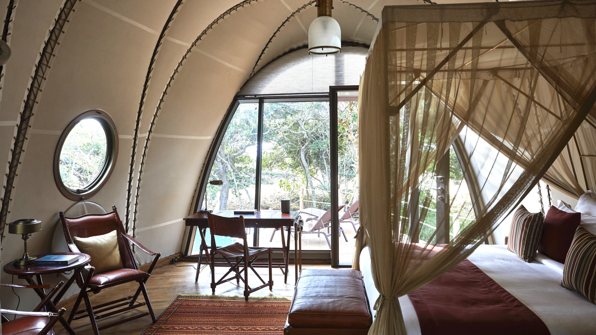 Rooms at Wild Coast Tented Lodge