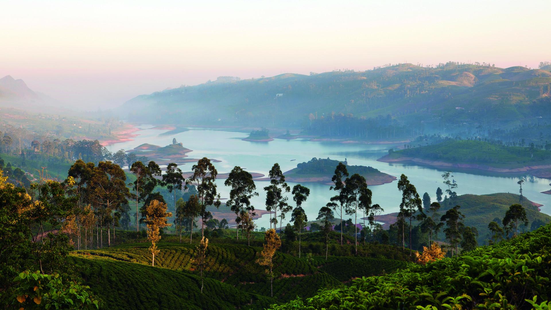 Castlereagh Lake, as seen from Tea Trails' Resplendent Ceylon bungalows