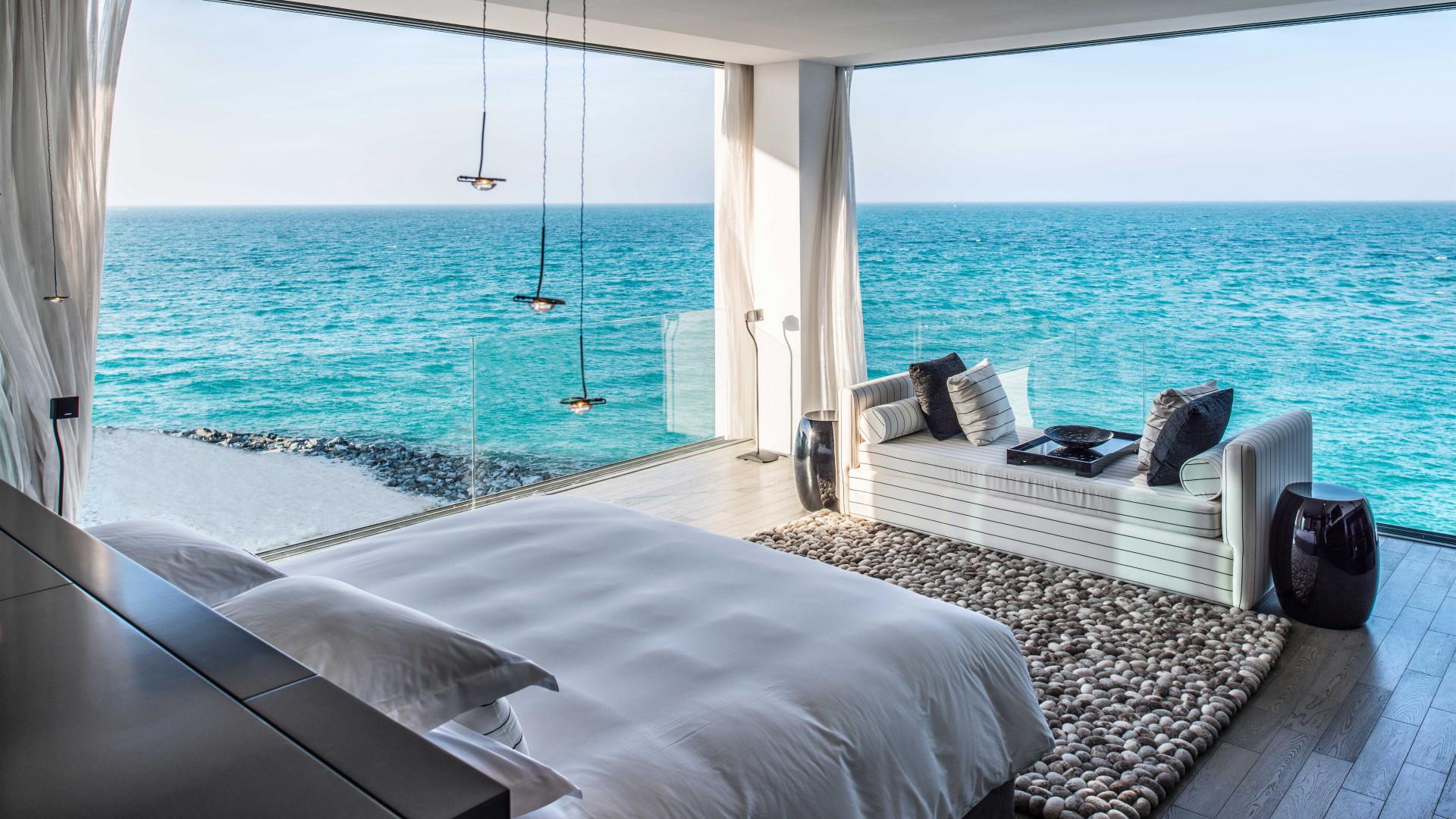 Rooms at Zaya Nurai Island in Abu Dhabi, UAE
