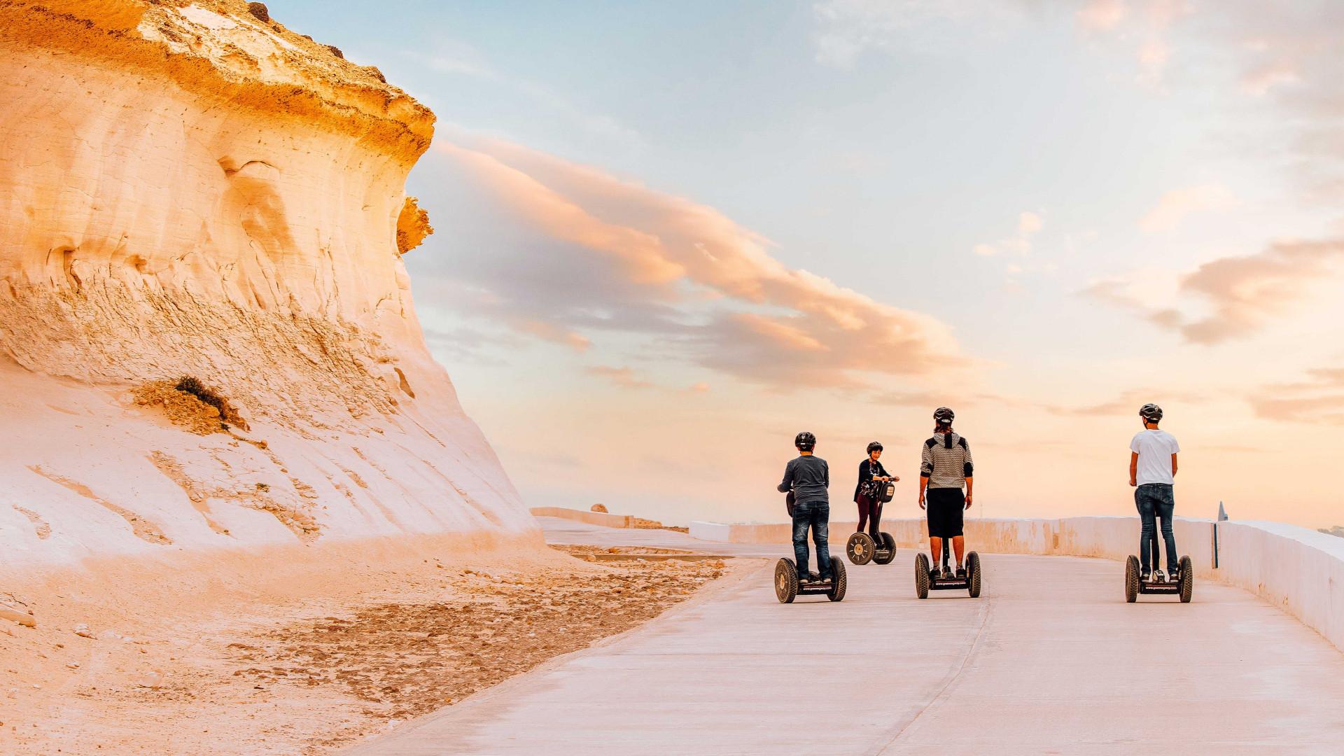 Segway touring in Gozo, Malta