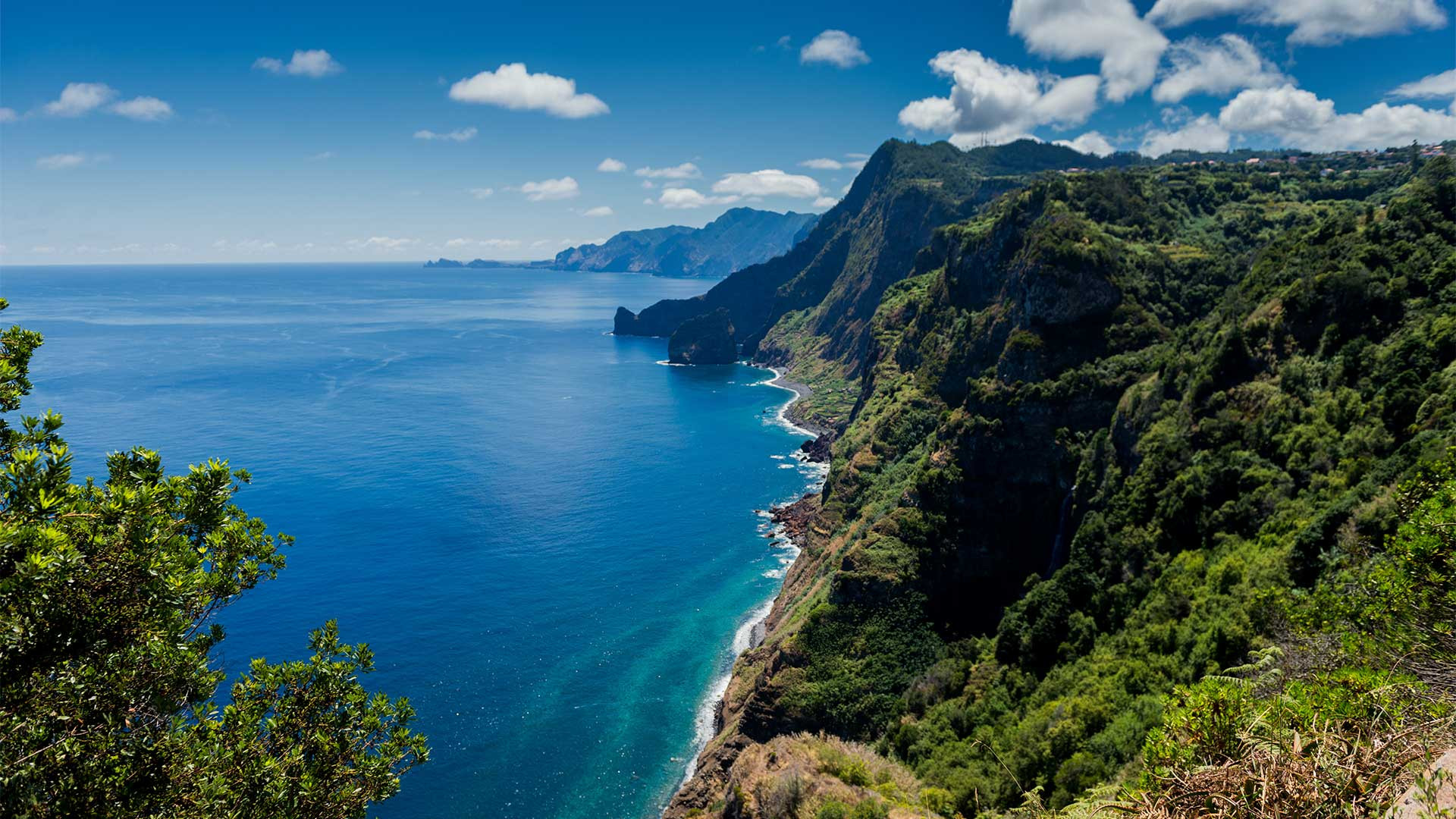 Coastline in Madeira, Portugal