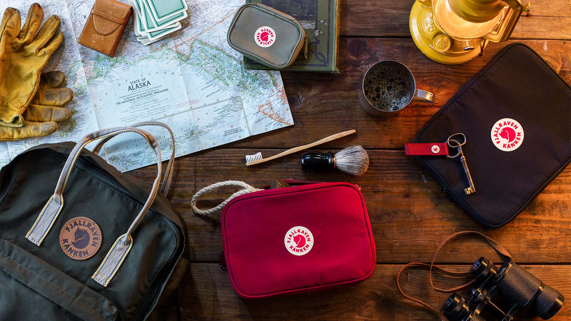 The Fjallraven Kanken Essentials kit
