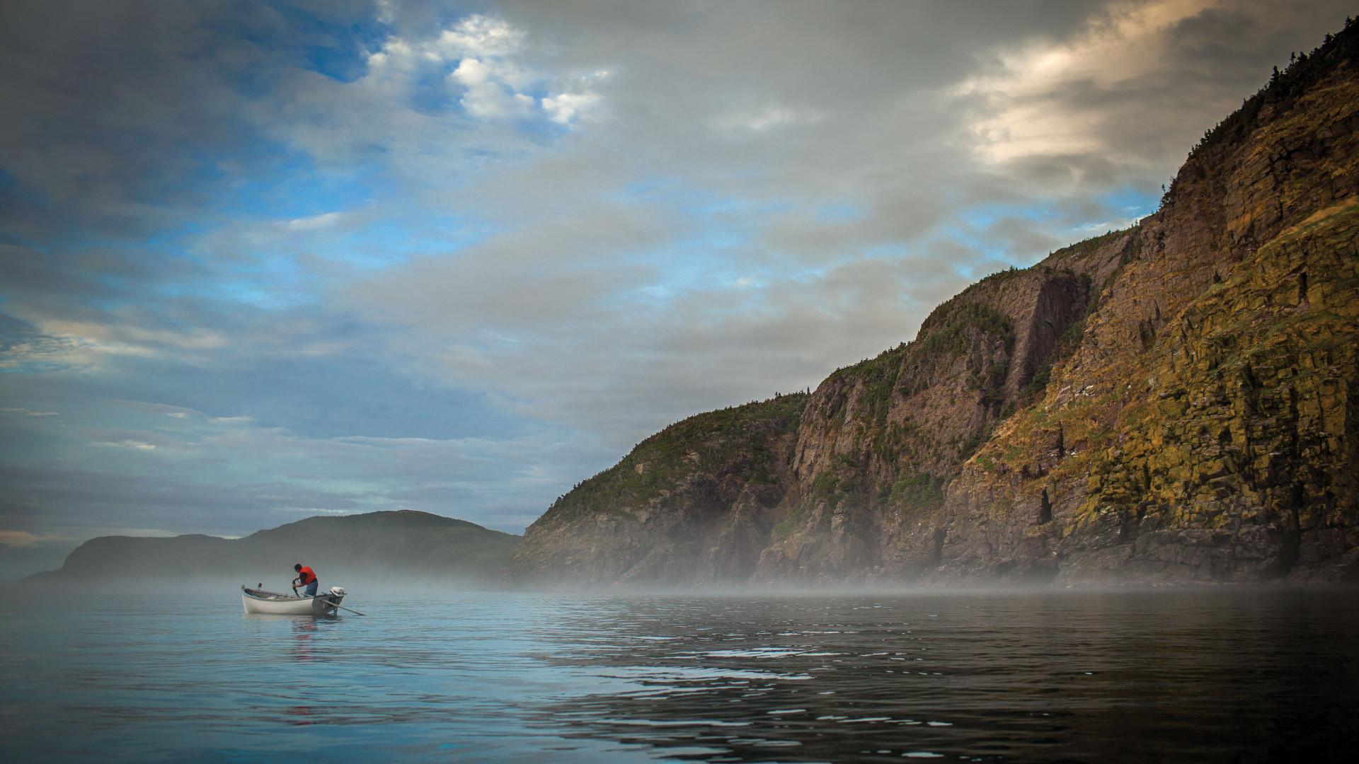 Cod fishing in Newfoundland, Canada