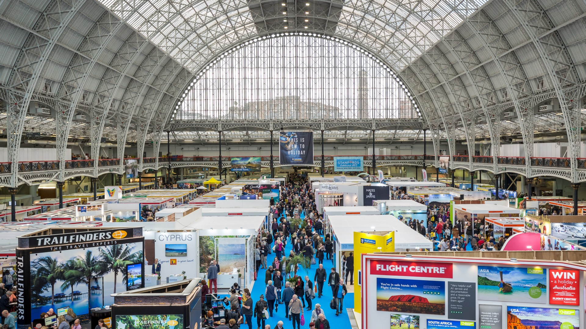 Destinations: The Holiday & Travel Show at Olympia London