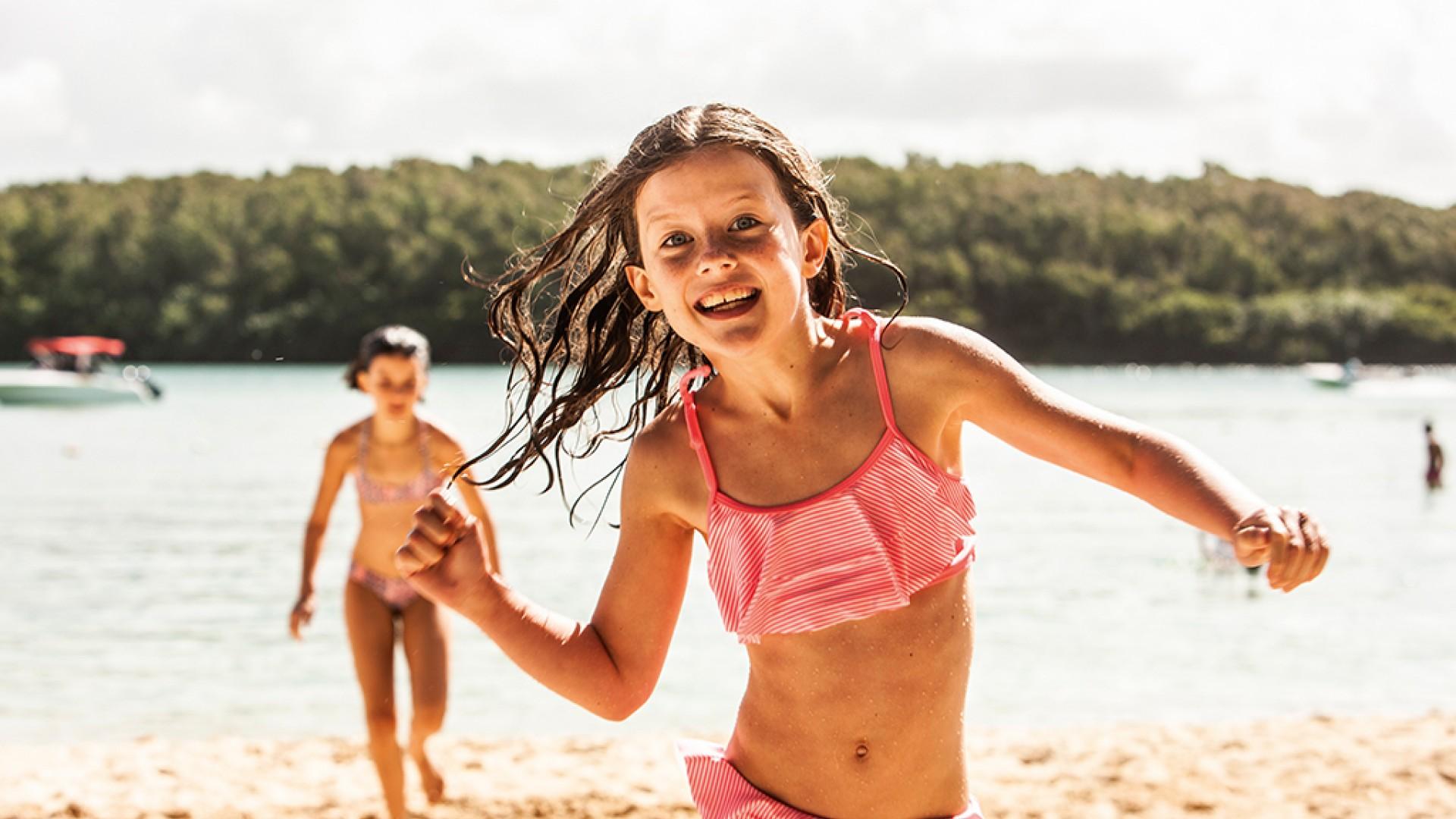 Children playing at Beachcomber resorts