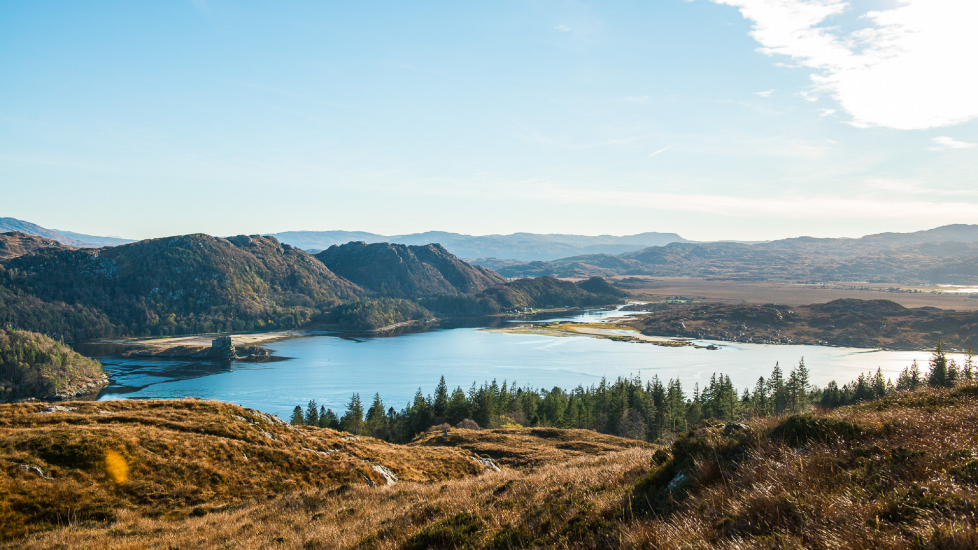 Eilean Shona in Scotland