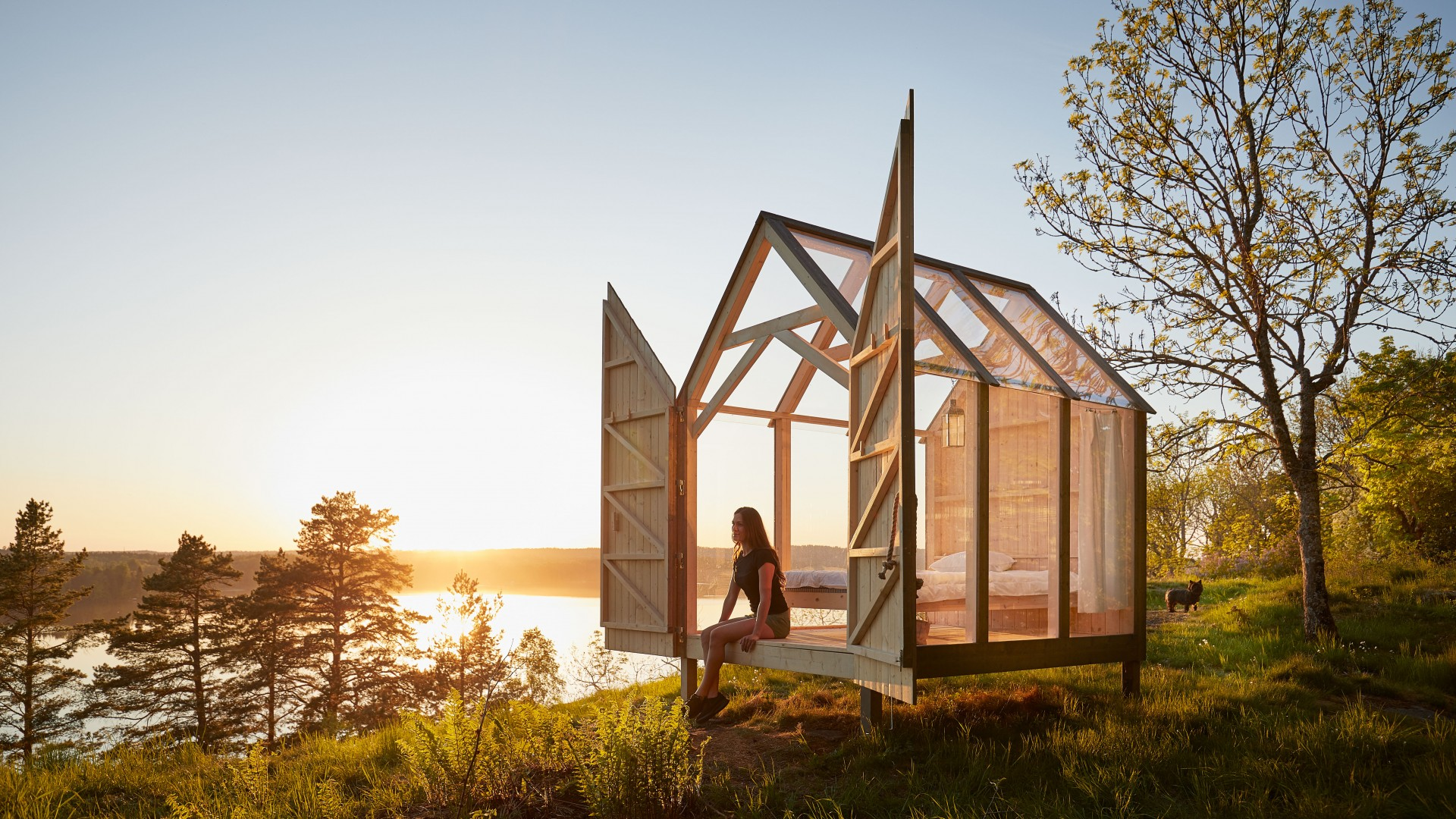 The 72-Hour Cabin in Henriksholm, West Sweden