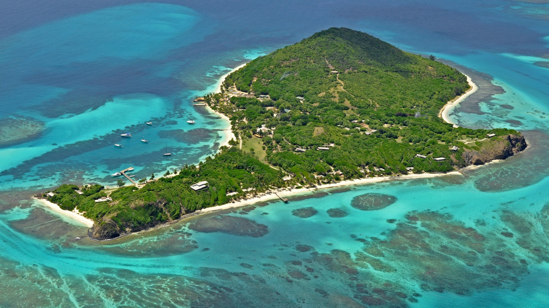The island of Petit St Vincent