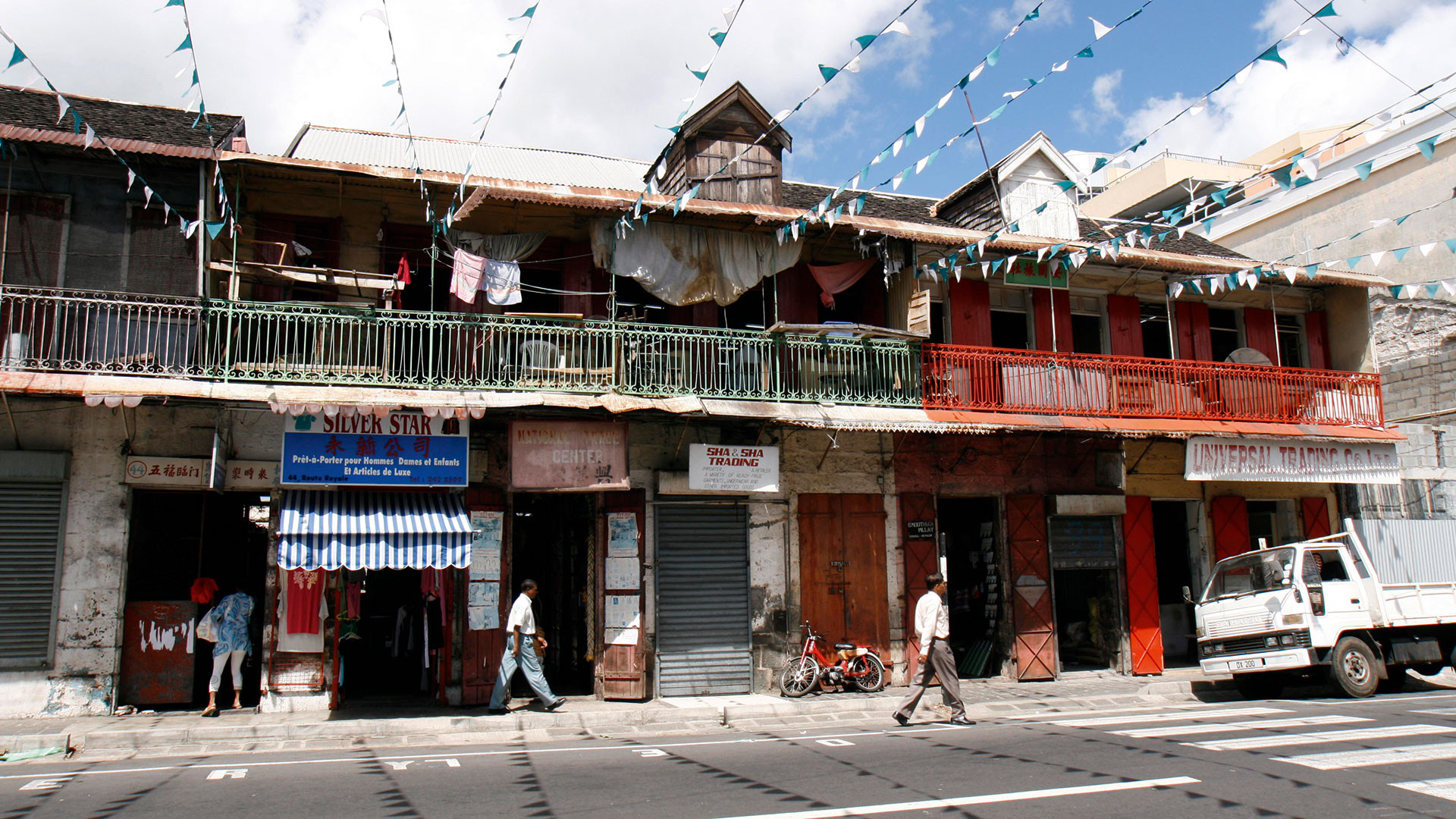 China Town in Port Louis, Mauritius