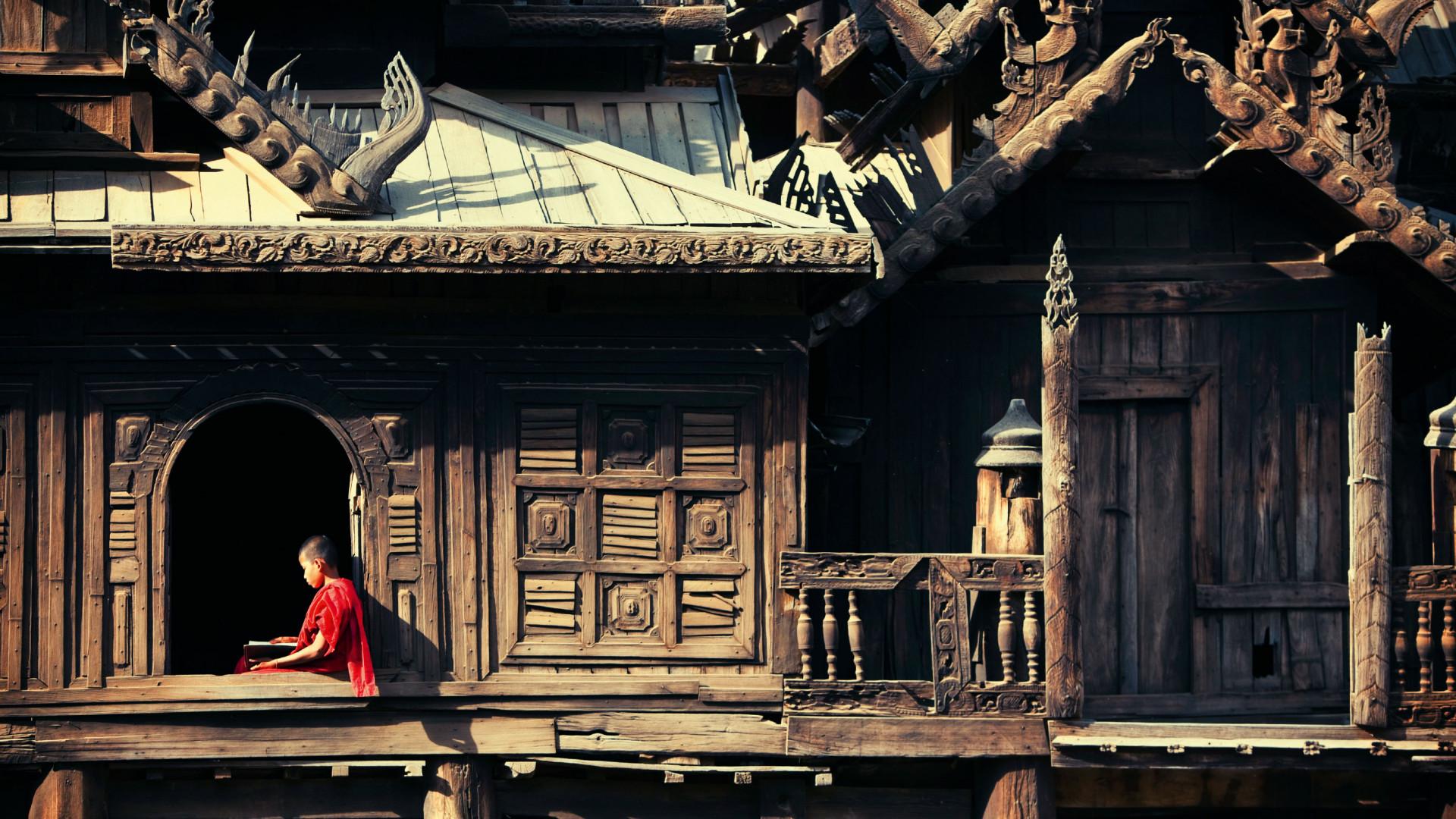 Myoe Daung Monastery, Myanmar