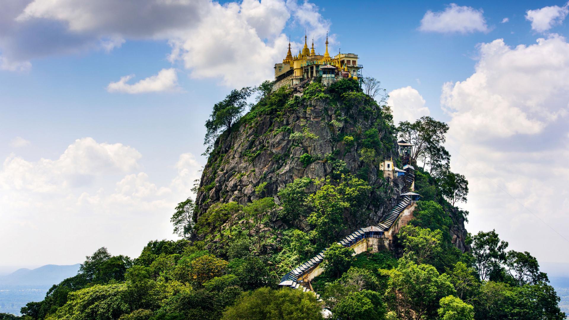 Mt. Popa, Mandalay Division, Myanmar