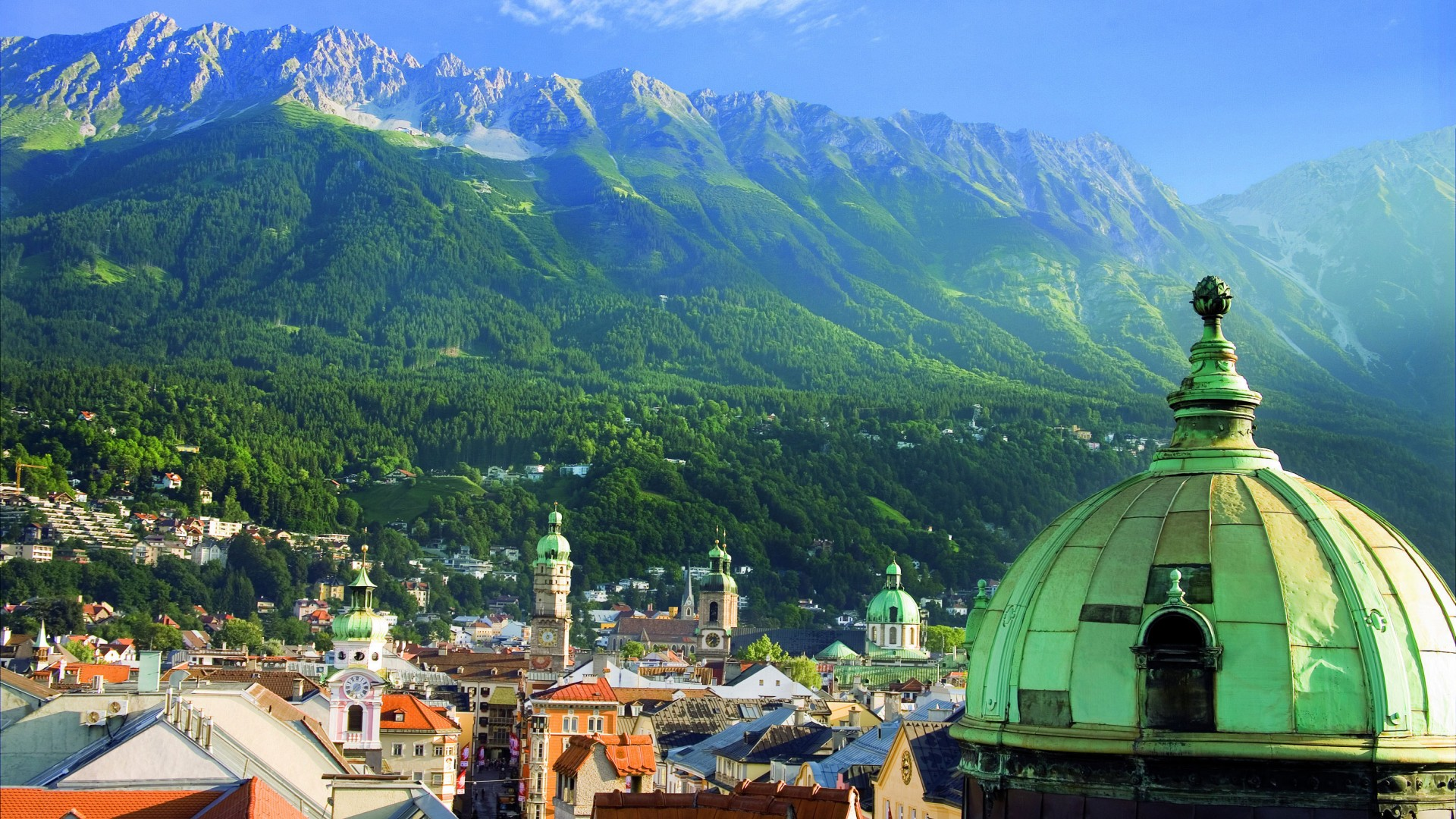 Views over Innsbruck
