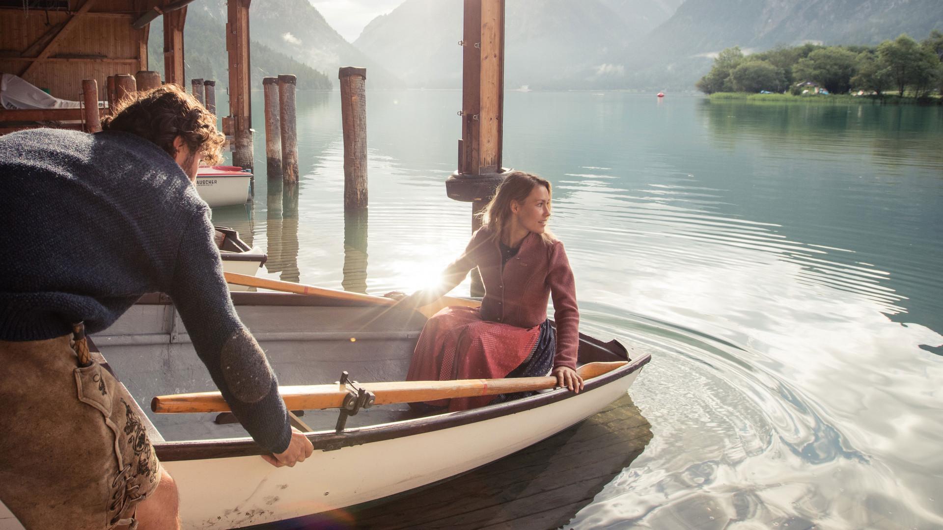 Boating in Tiroler Zugspitz Arena