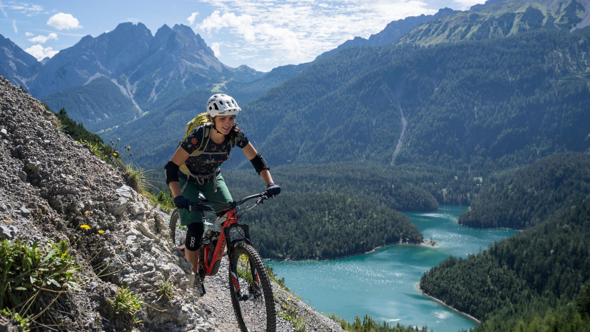 Mountain biking in Tiroler Zugspitz Arena