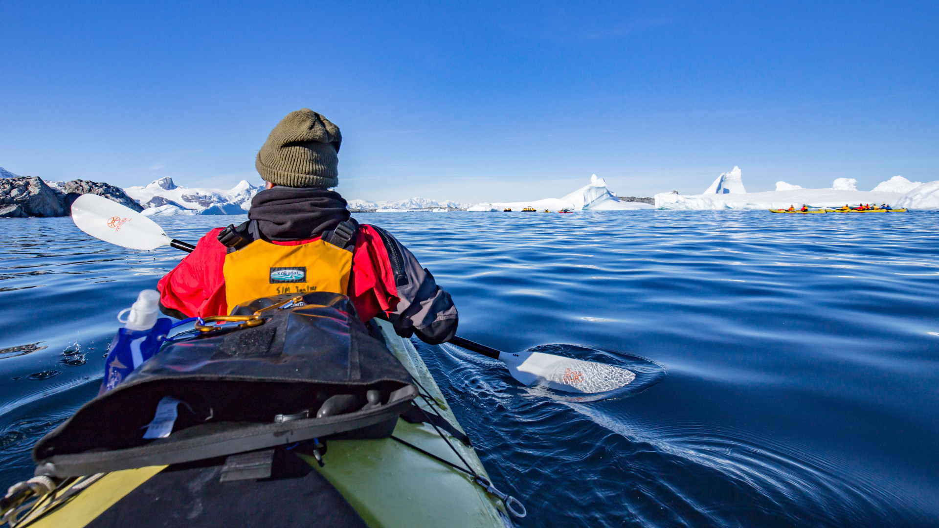 Kayaking in Antarctica with Intrepid Travel