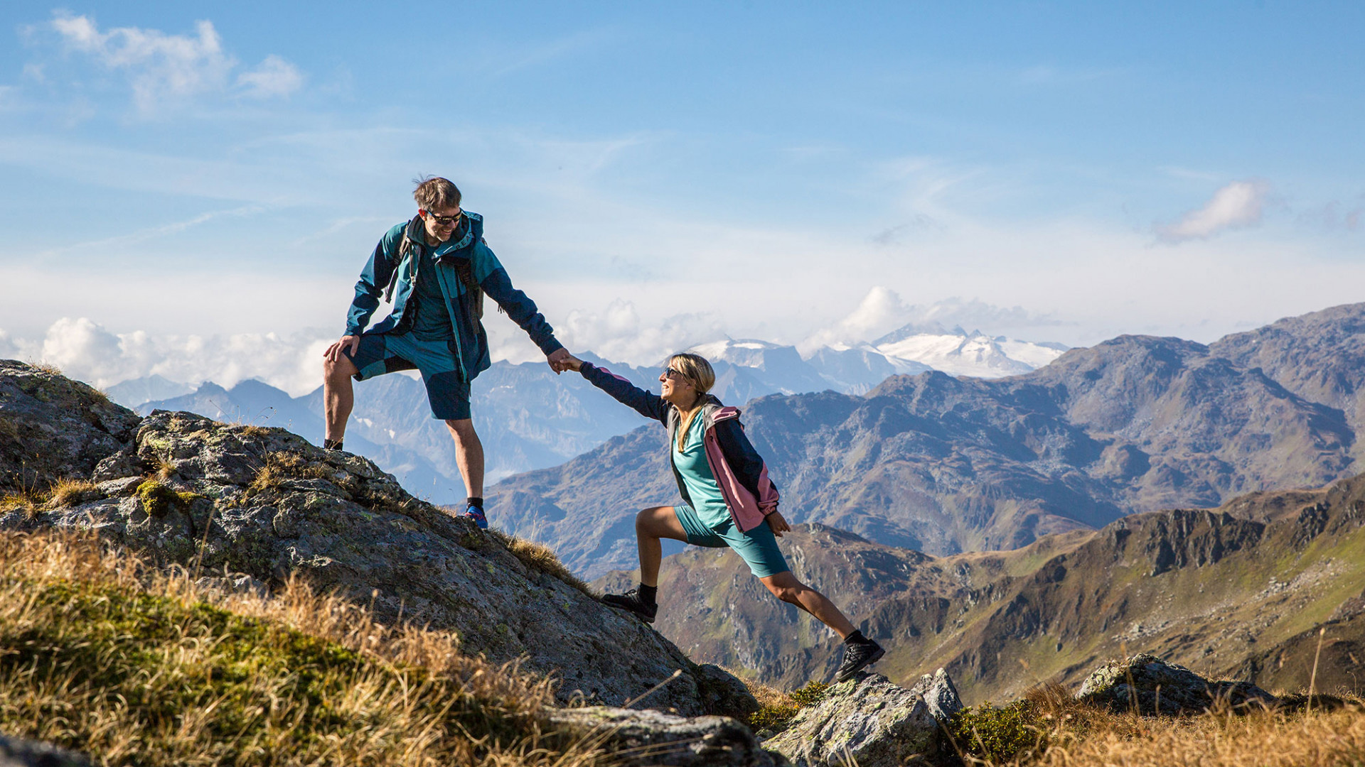 Hiking in the Zillertal Valley