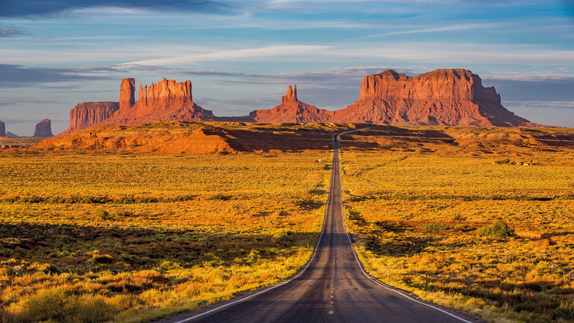 Monument valley road trip, USA