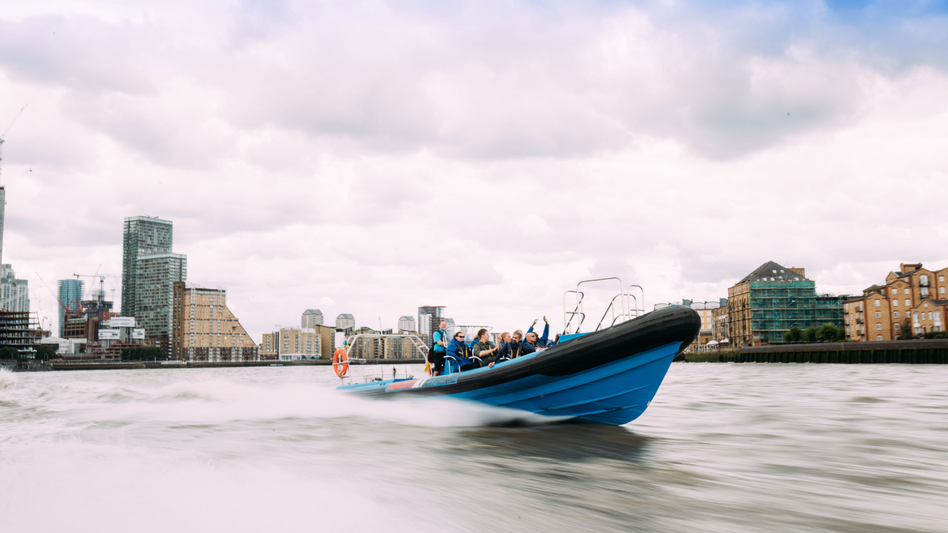 ThamesJet tours of London