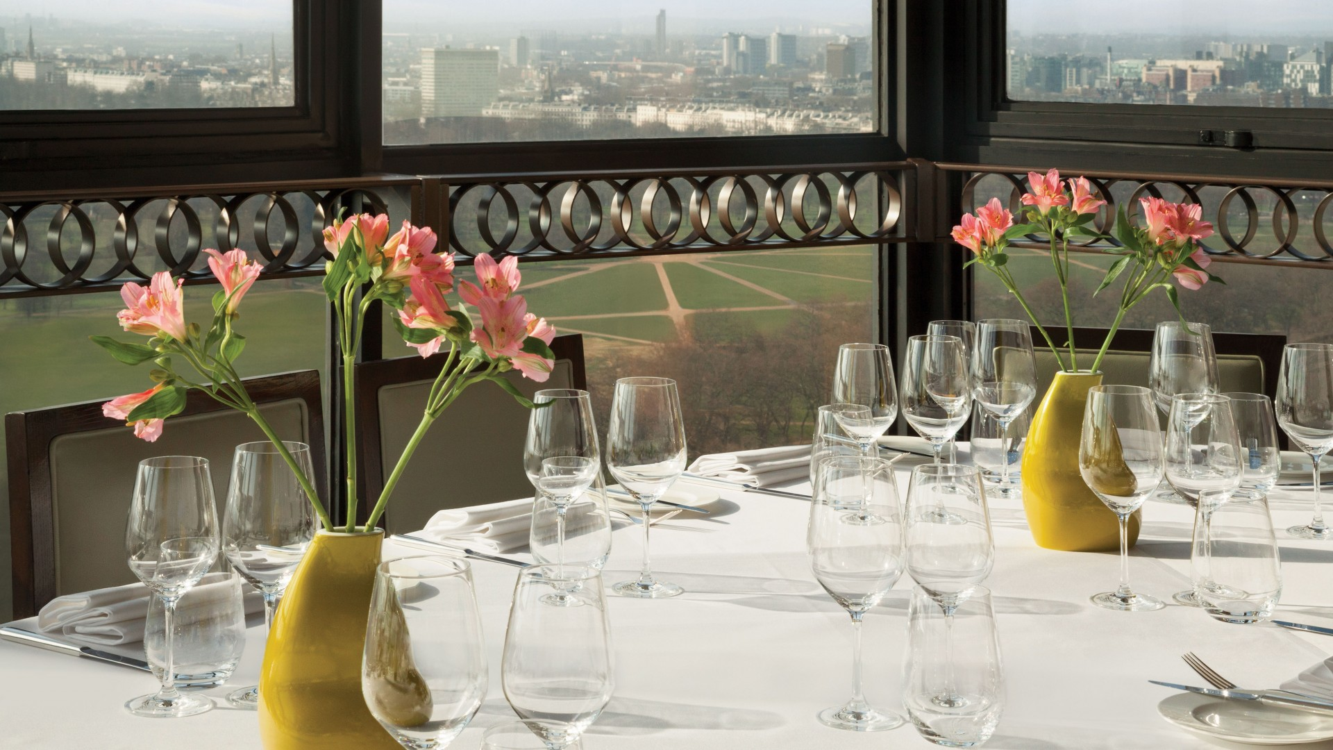 View from Galvin at Windows, London