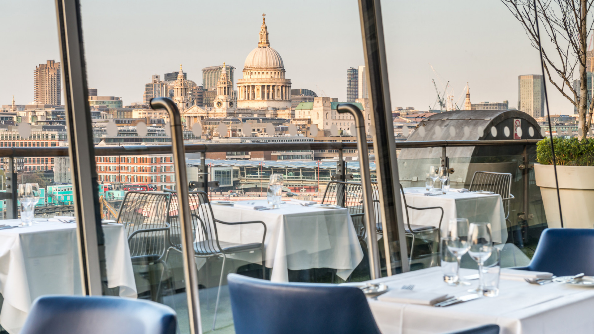 View from OXO Tower Restaurant, London