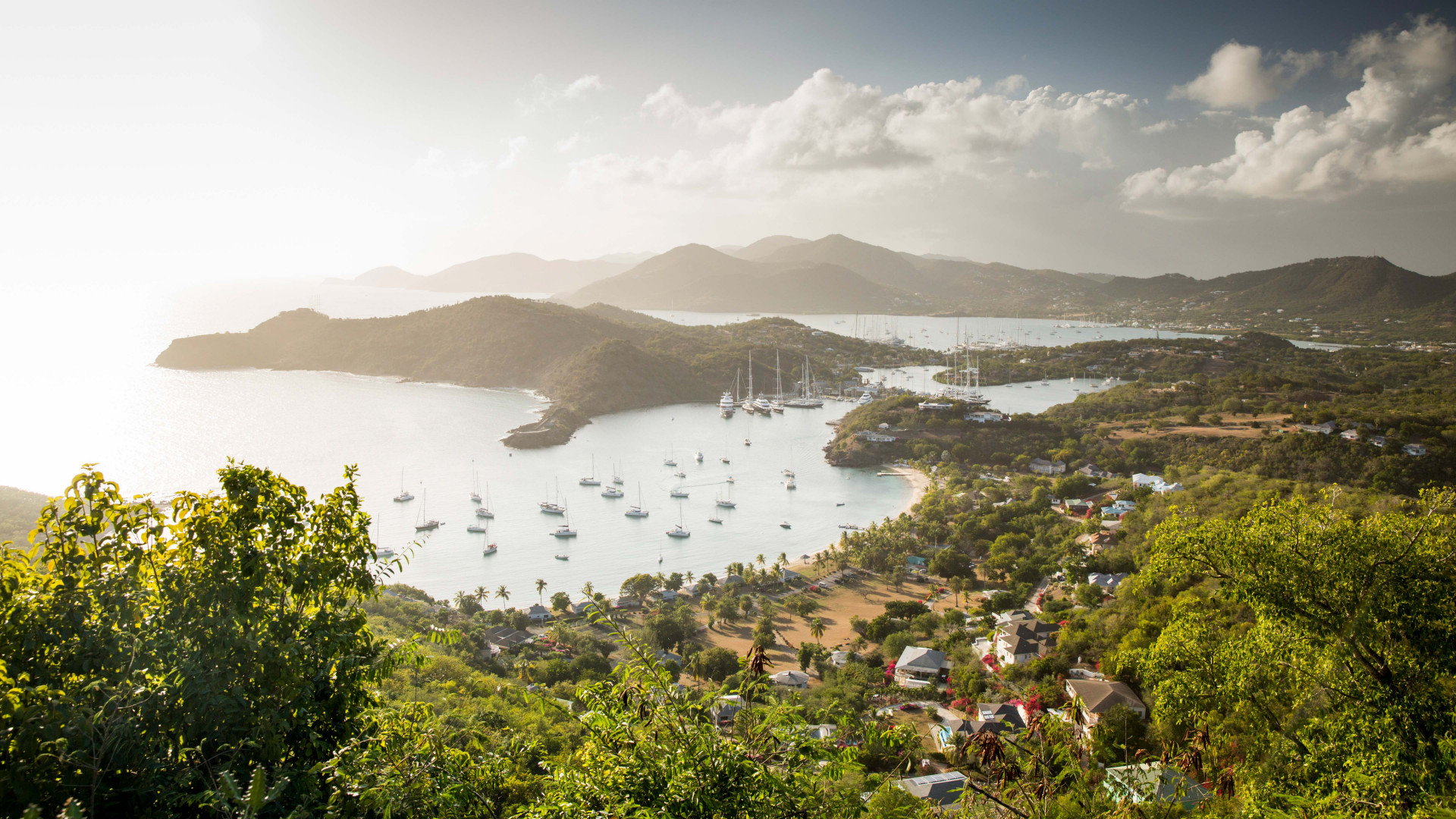 Falmouth Harbour in Antigua