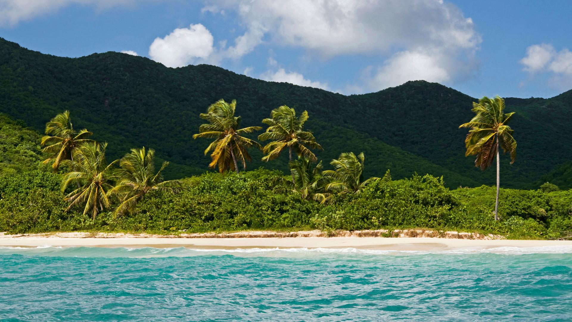 Tobacco Beach in Antigua's South East coast
