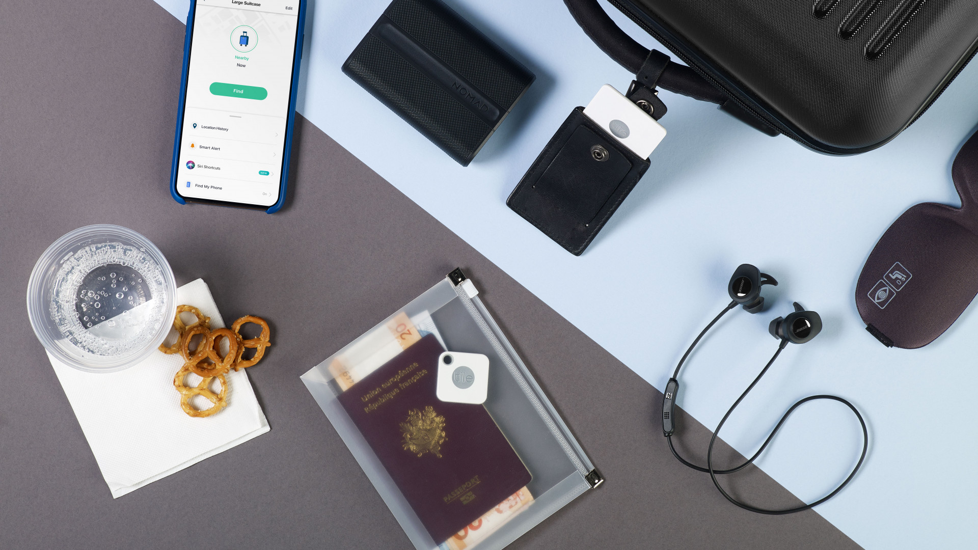 Tile Bluetooth tracker: use it to find your passport