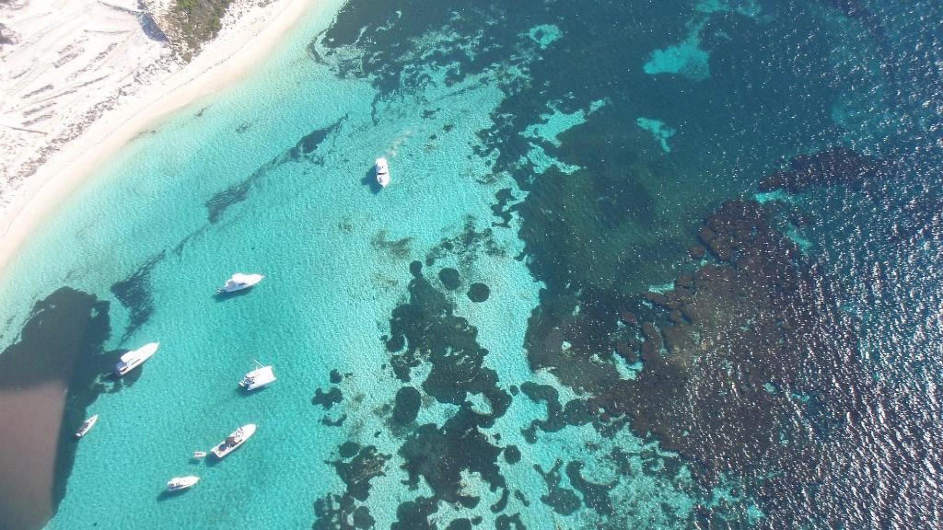 Best city breaks: Aerial photo of Perth coast