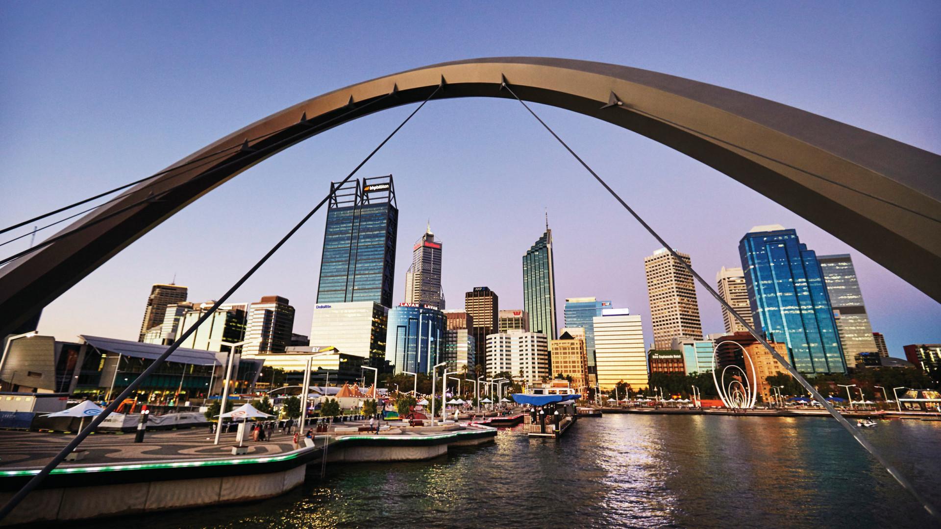 Best city breaks: Perth skyline, Western Australia