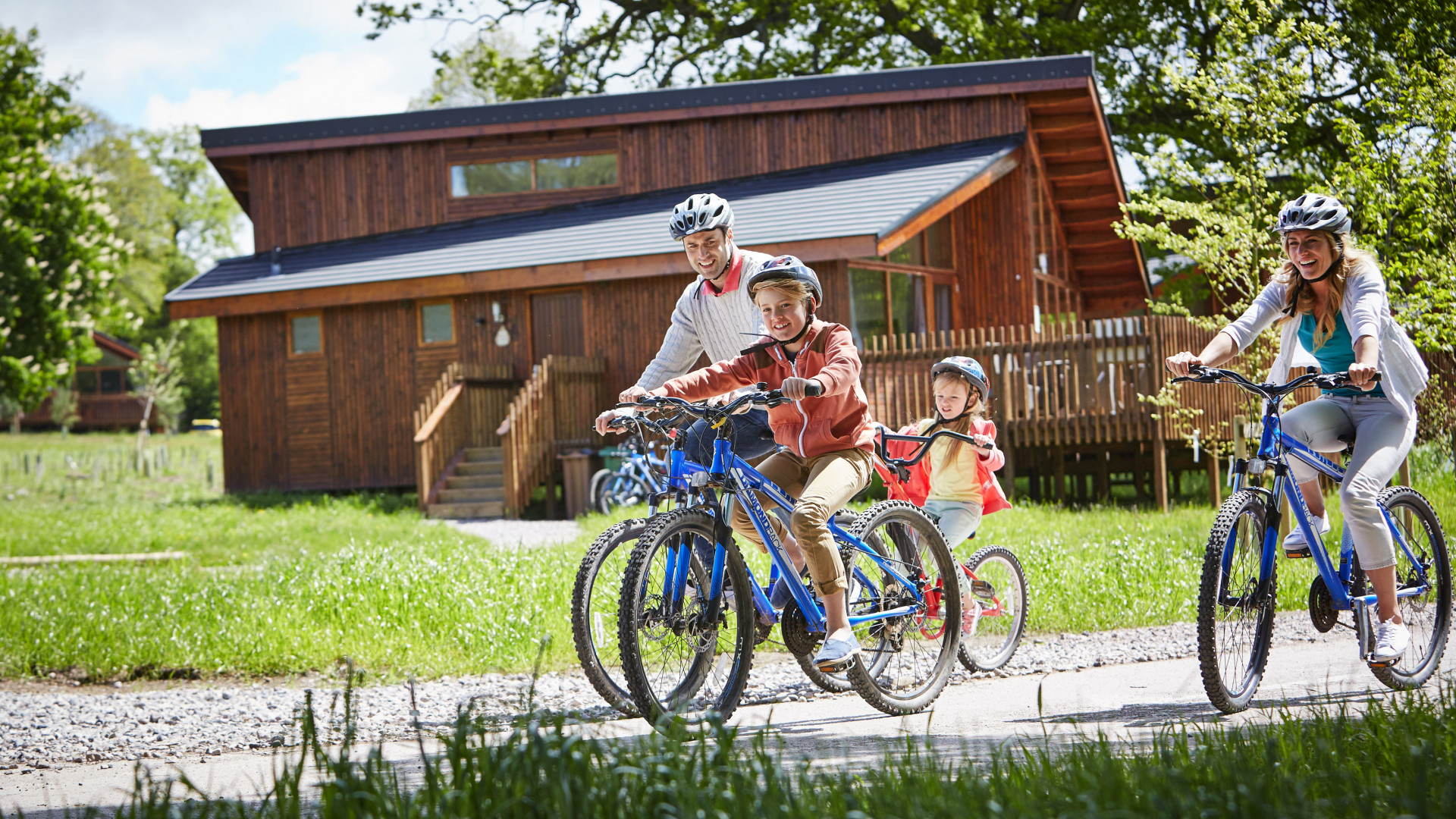 Cycling at Forest Holidays