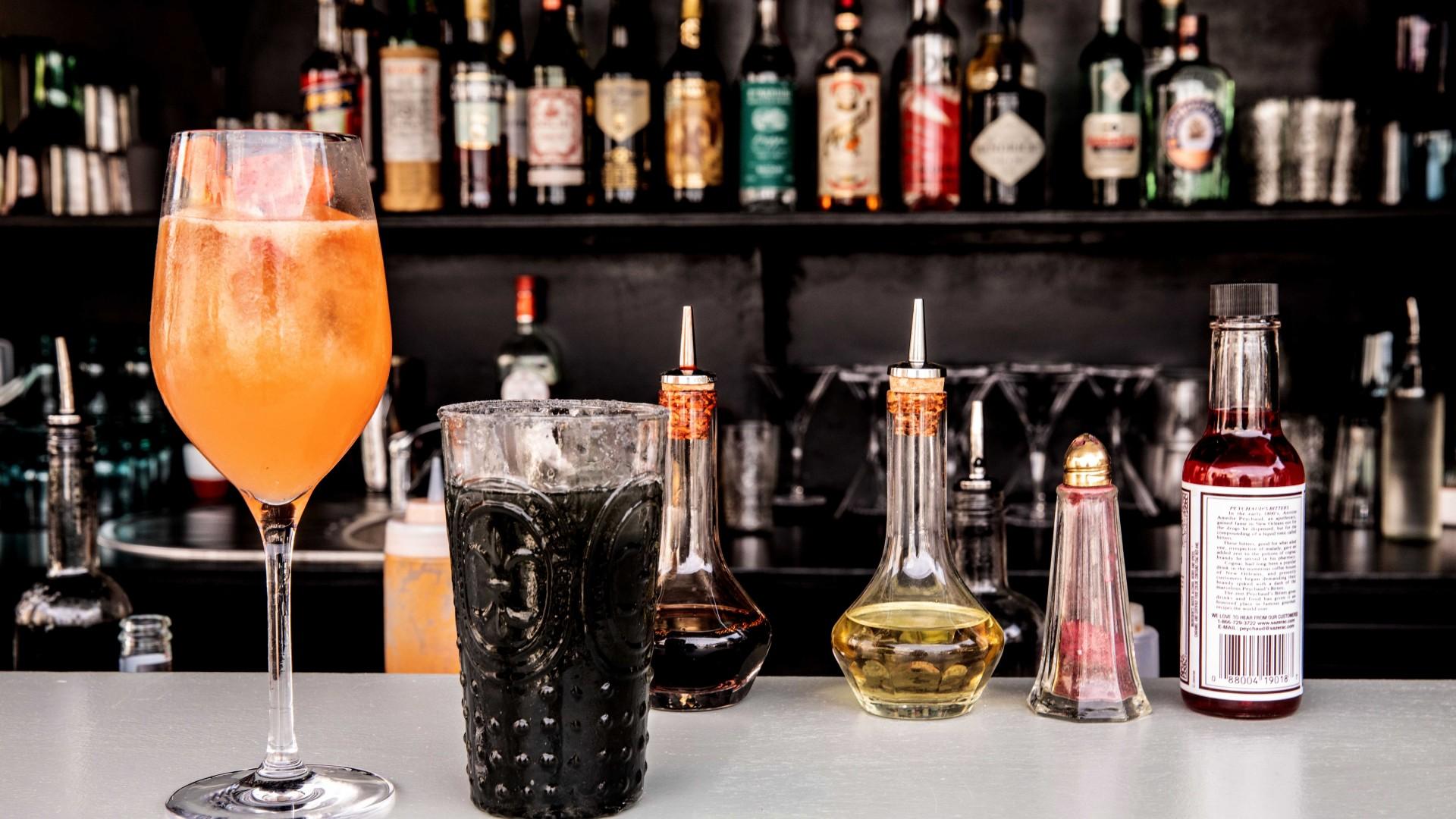 Sentier, Paris: Cocktail bar at Hotel Des Grands Boulevards
