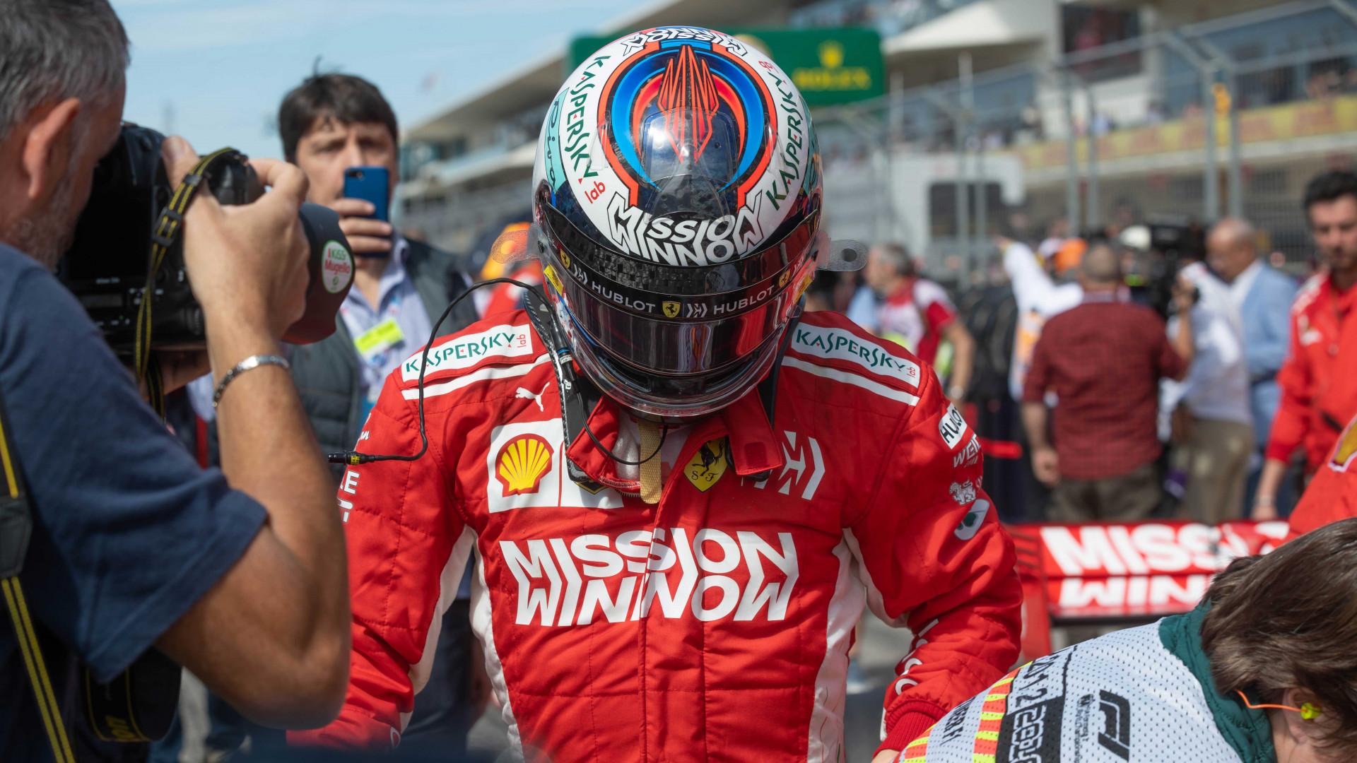 Circuit of the Americas: F1 Ferrari driver