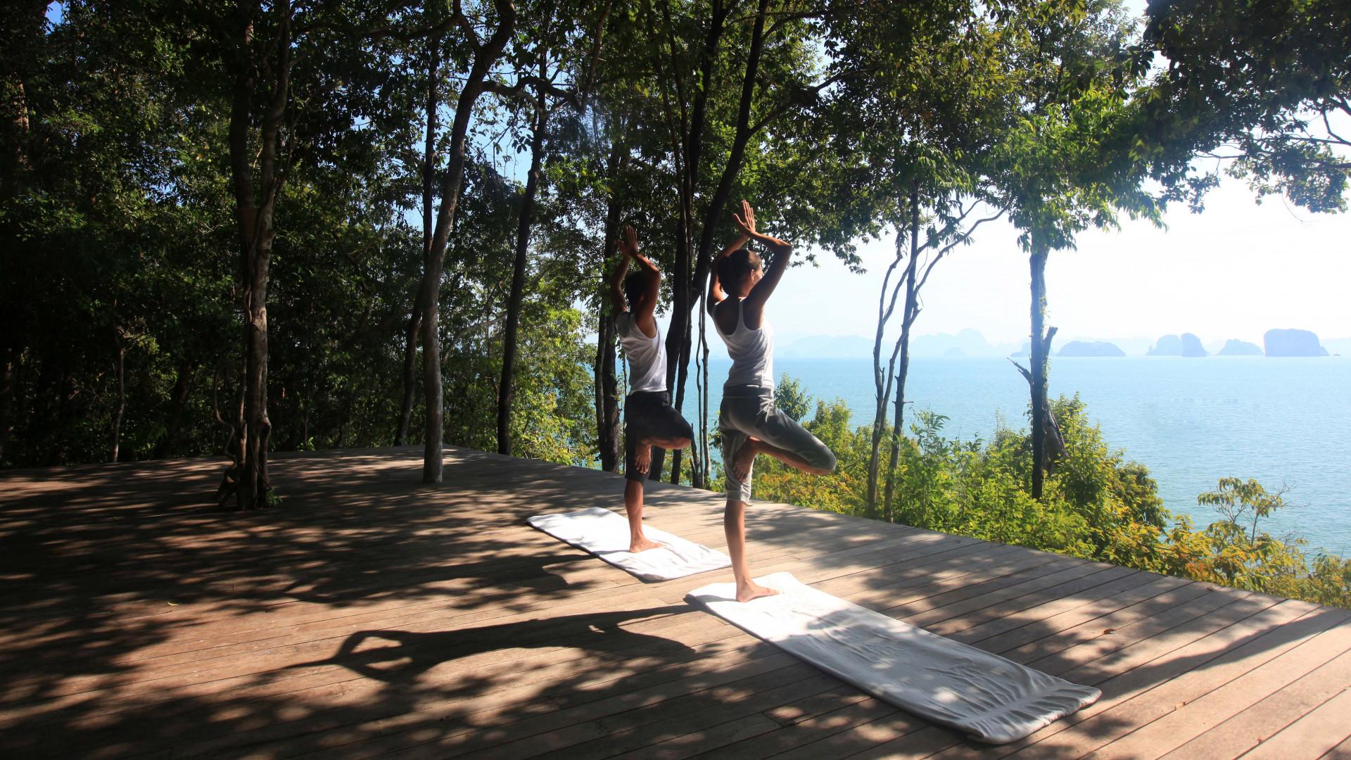 Yoga camp with Healing Holidays