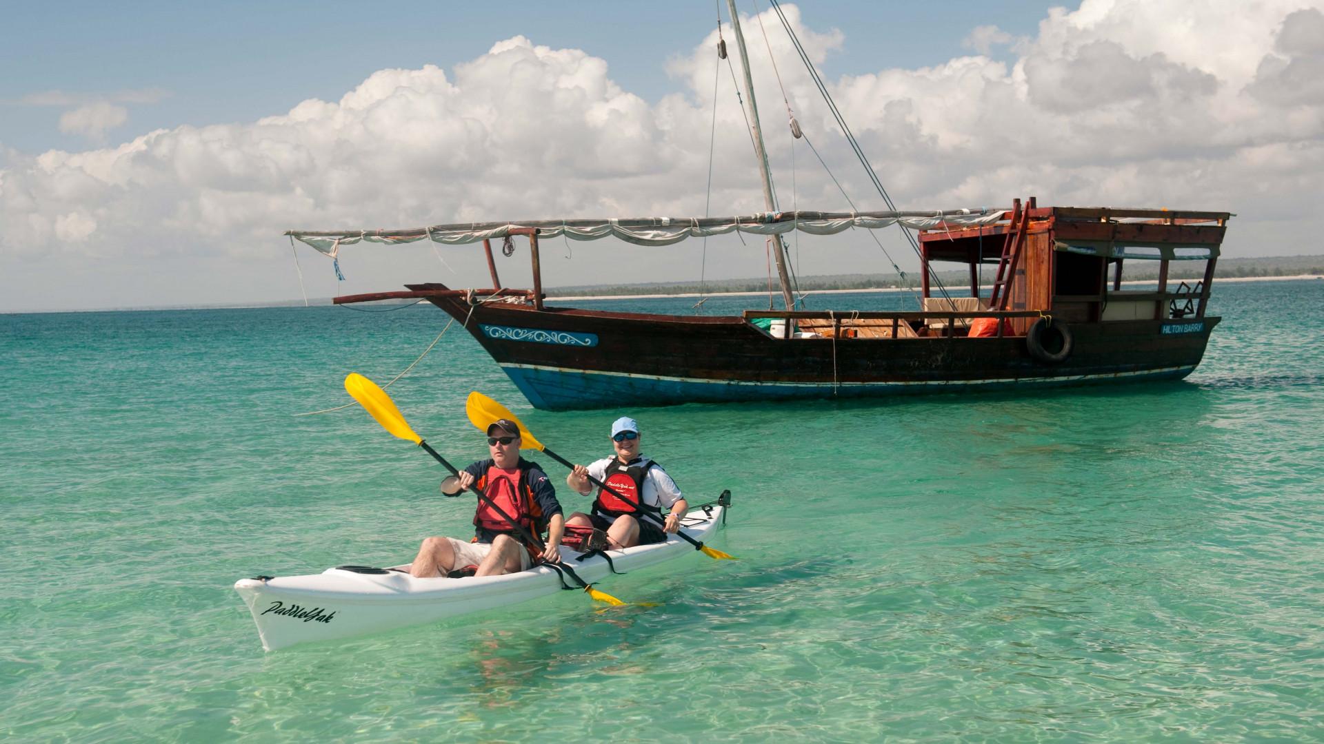Dhow cruising Madagascar