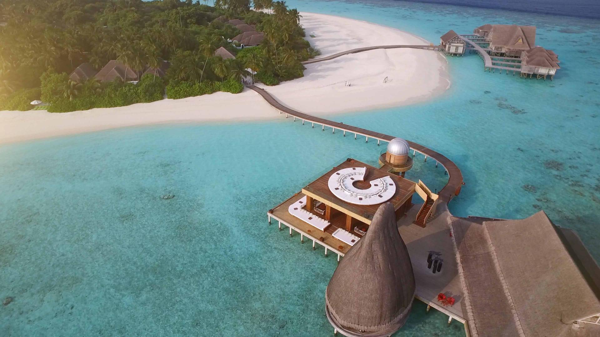 Stargazing in the Maldives