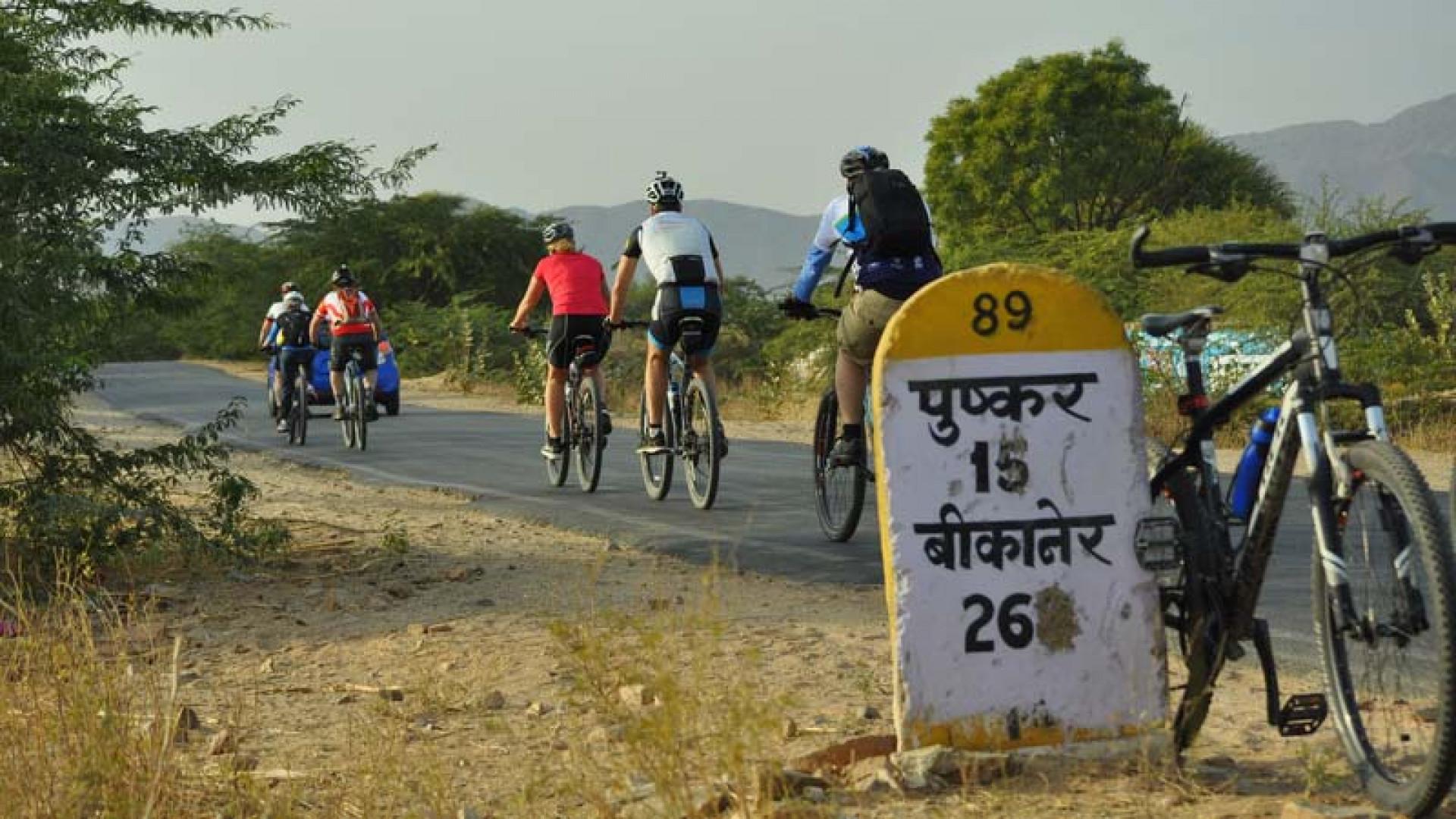 Intrepid Travel cycle Kerala