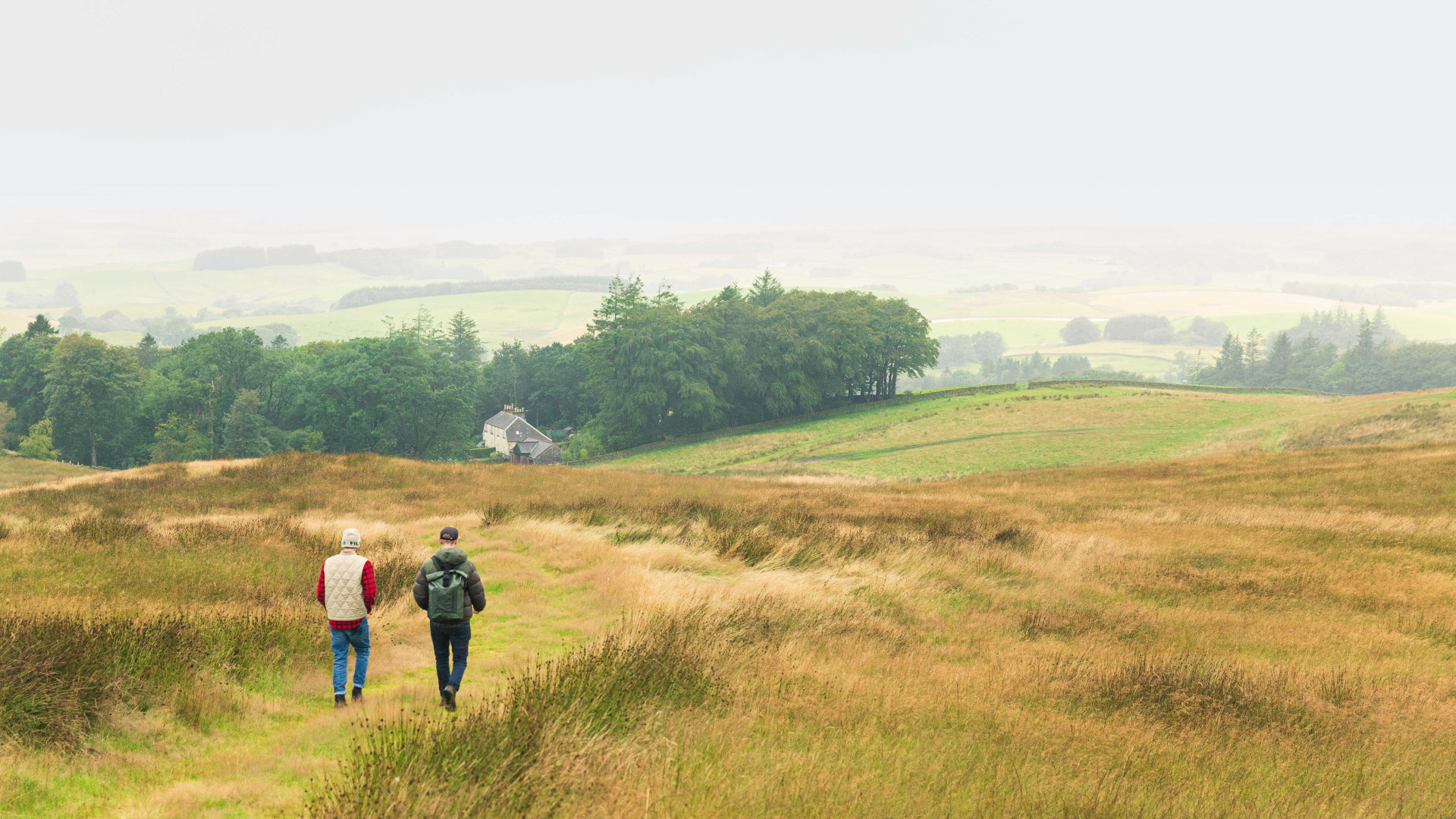 Hiking near Brockloch, Galloway Forest Park, Scotland