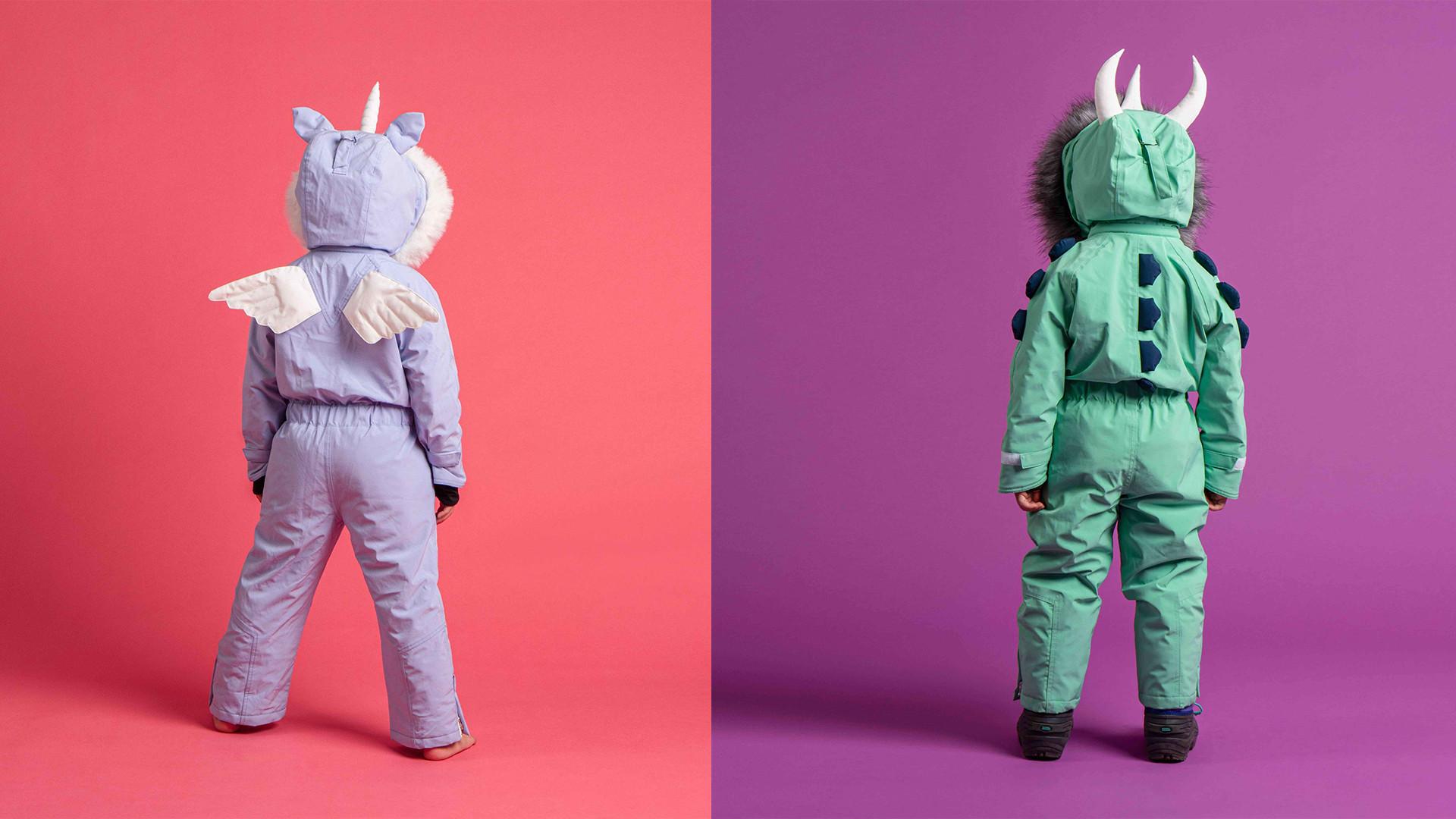 Dinoski's snow suits