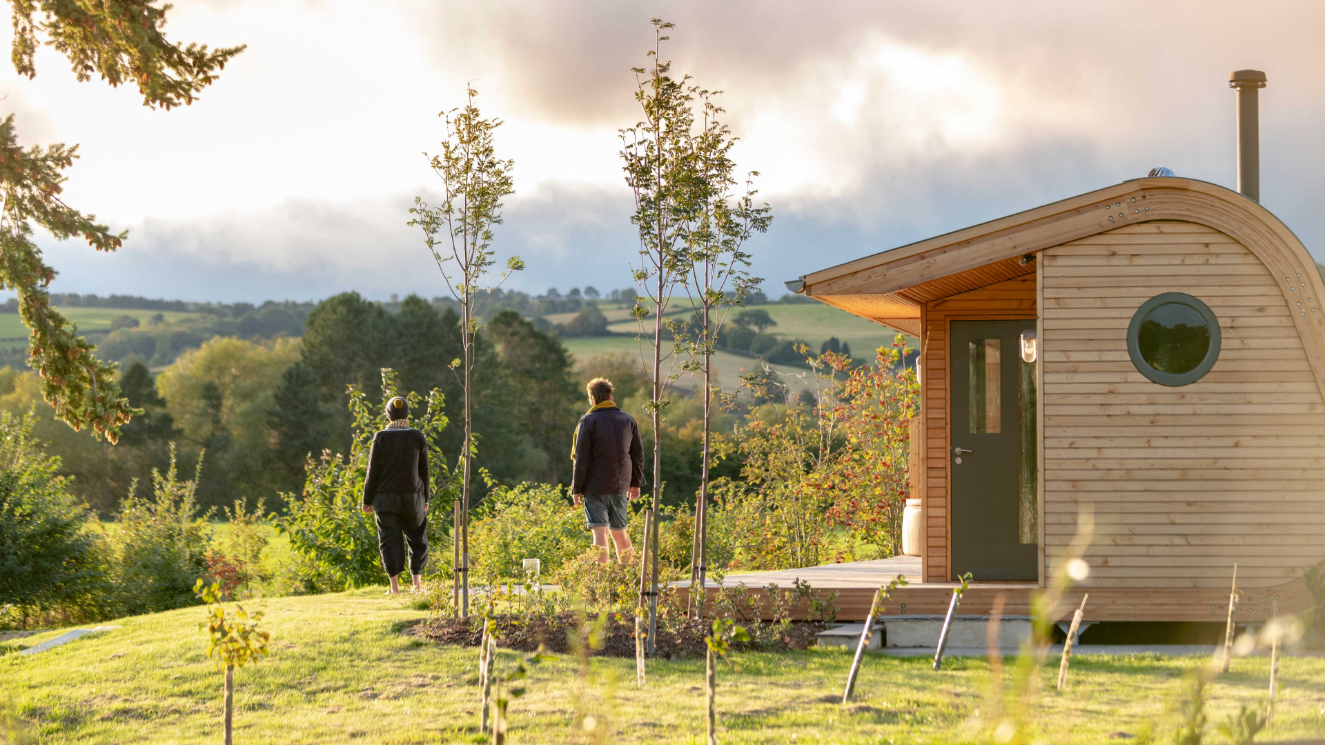 Cynefin Retreats | The grounds around the cabin