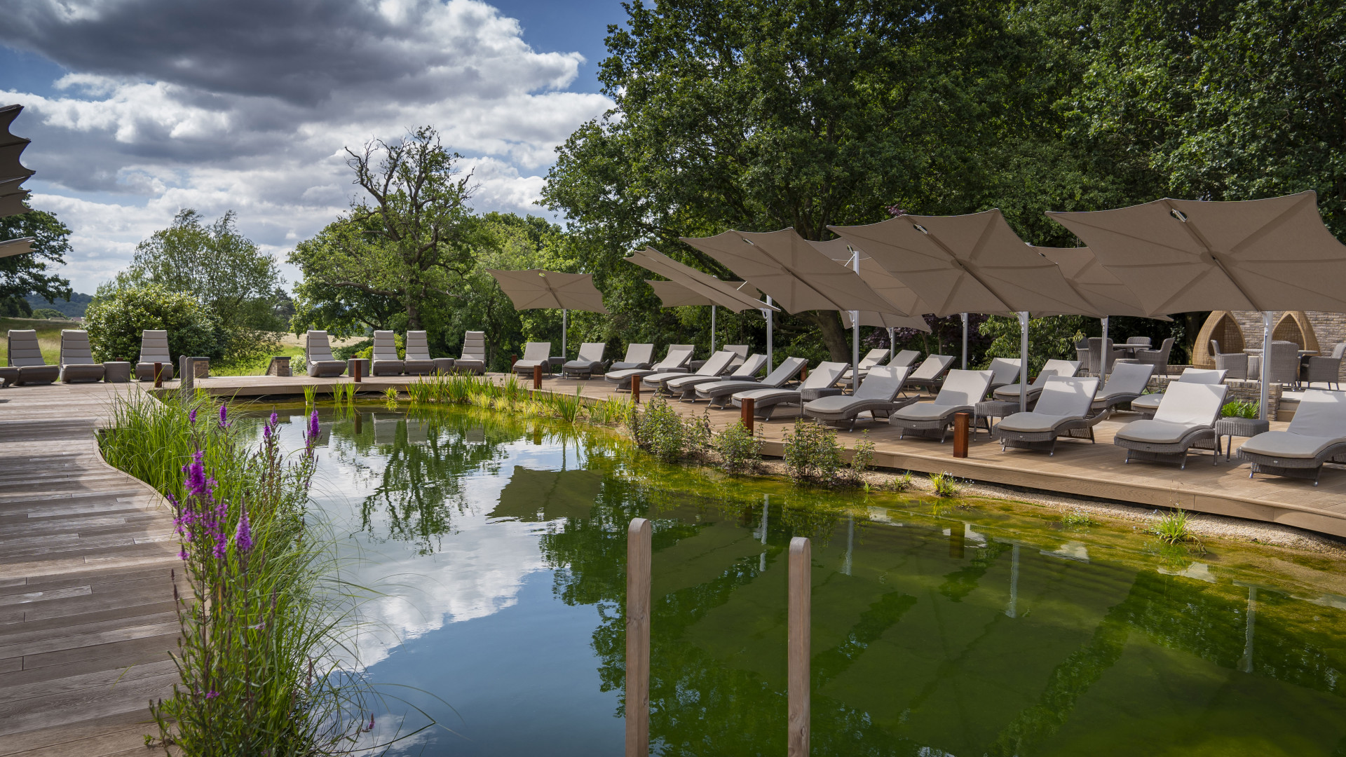World's Most Awesome Swimming Pools: The Spa at South Lodge Sussex