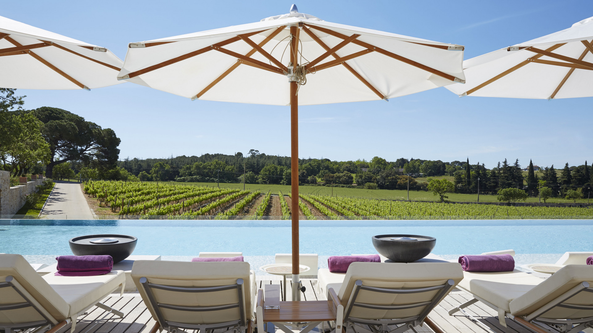 World's Most Awesome Swimming Pools: Domaine de Verchant Montpellier