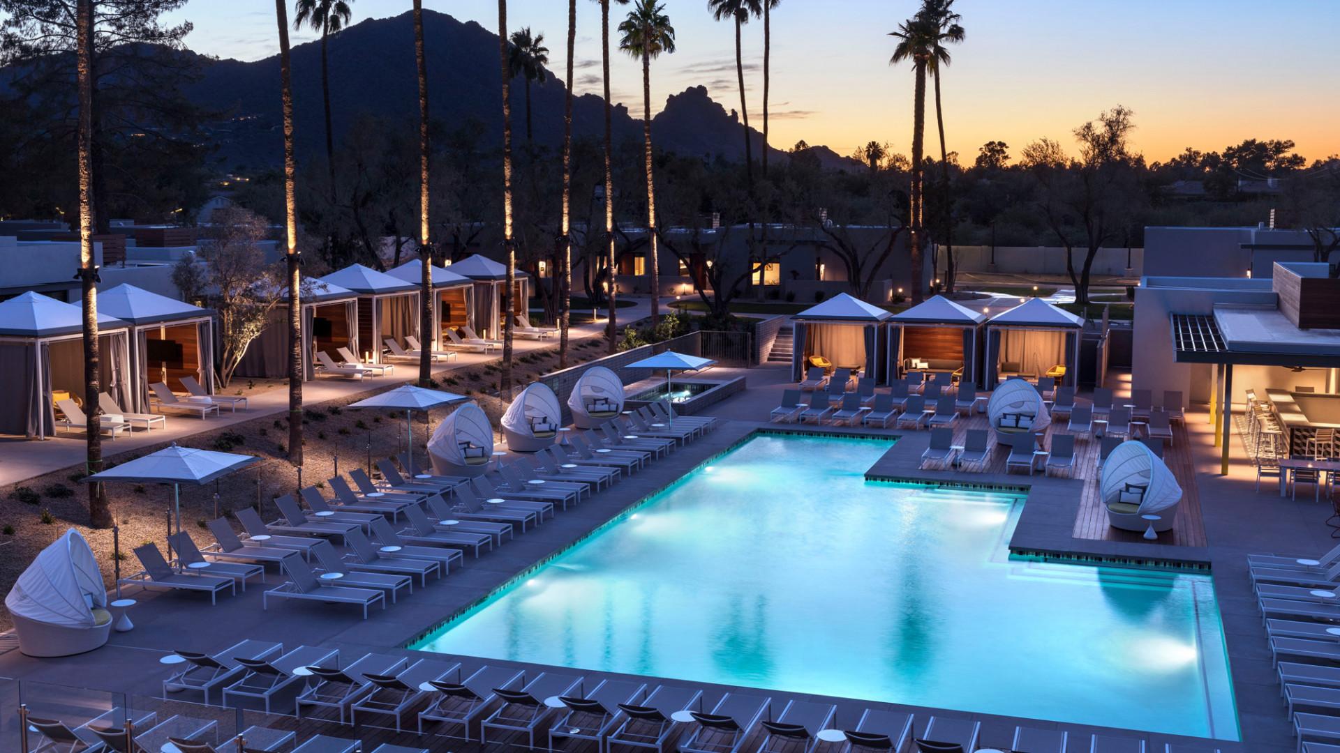 World's Most Awesome Swimming Pools: Andaz Scottsdale Resort & Bungalows Phoenix
