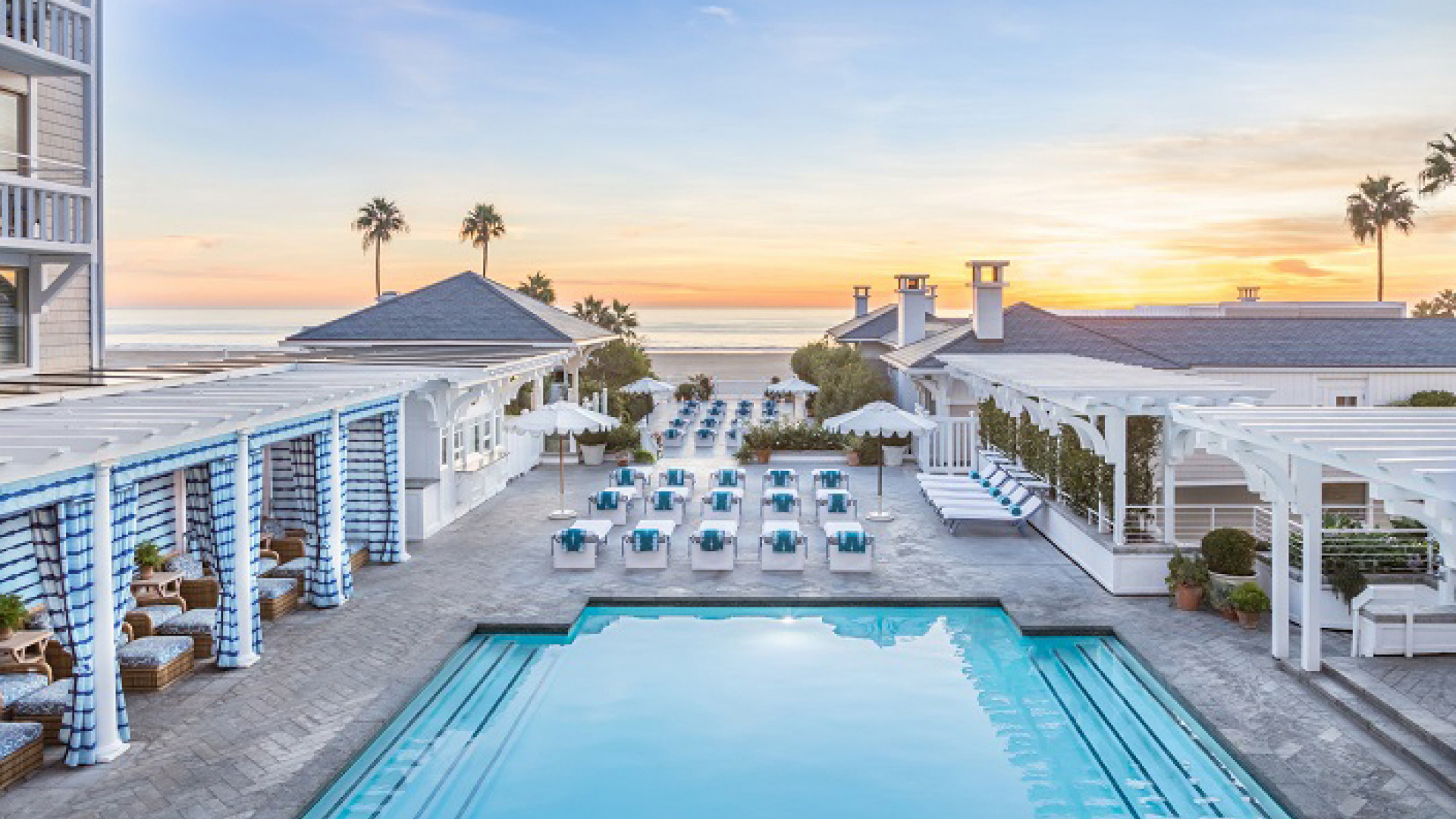 World's Most Awesome Swimming Pools: Shutters on the Beach Santa Monica