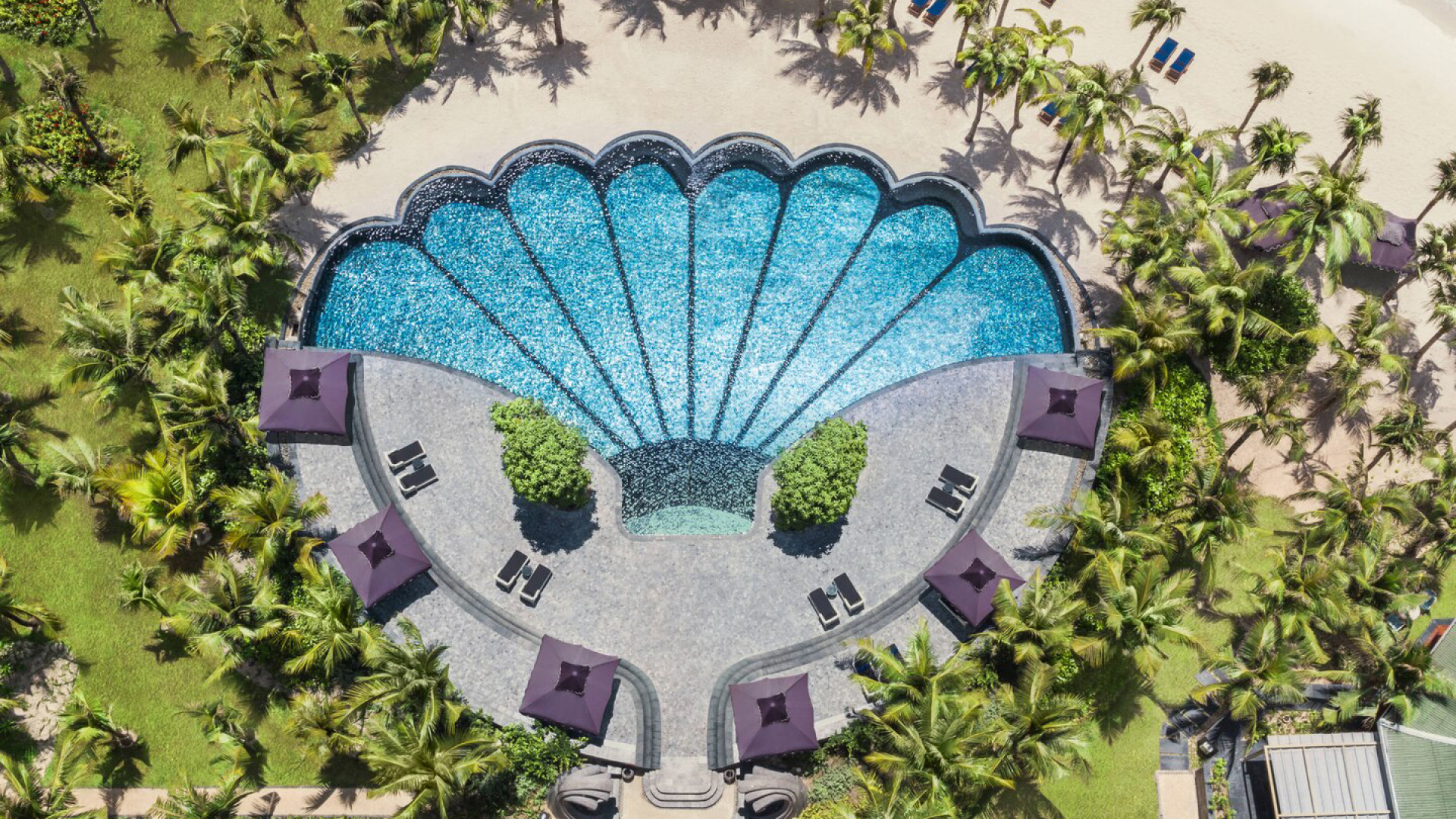 World's Most Awesome Swimming Pools: JW Marriott Phu Quoc Emerald Bay Resort & Spa Vietnam