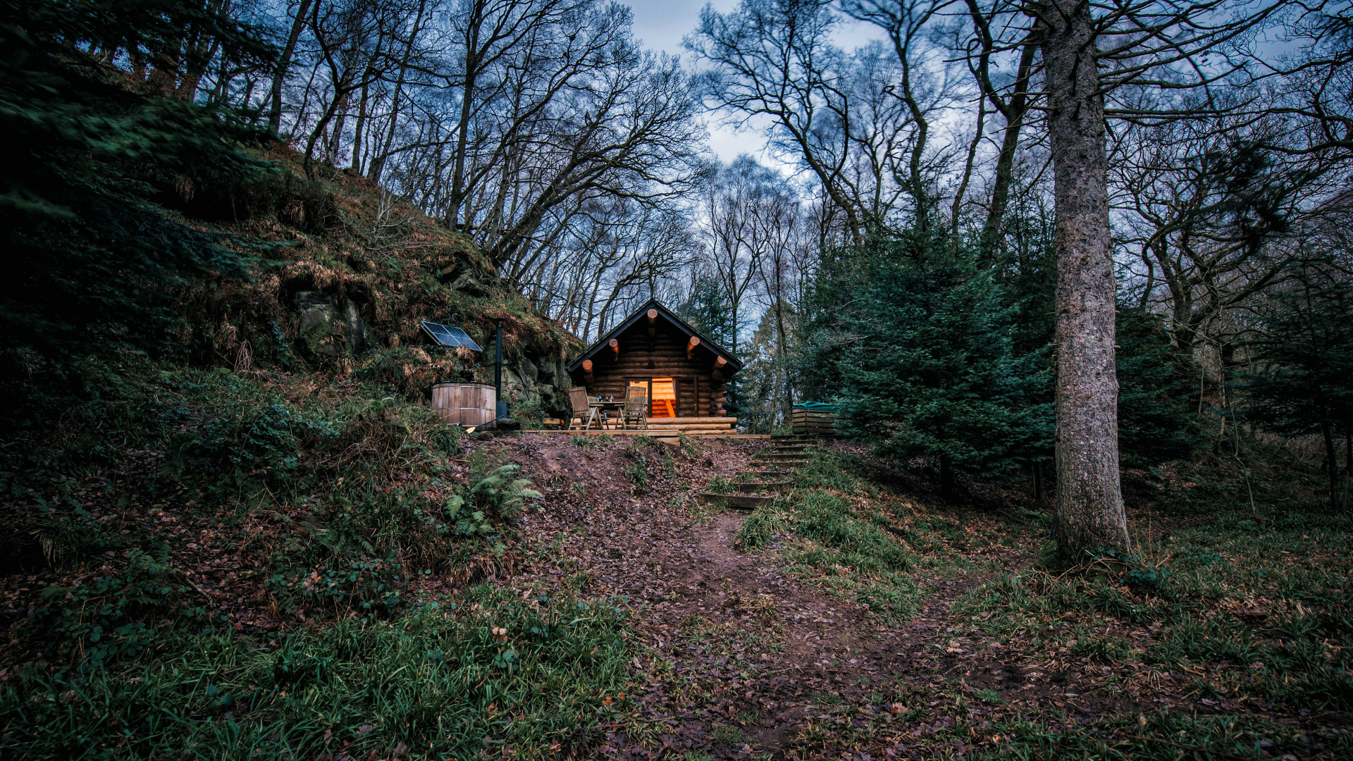 Best self-catering in the UK: Wood Cabin, Lake District