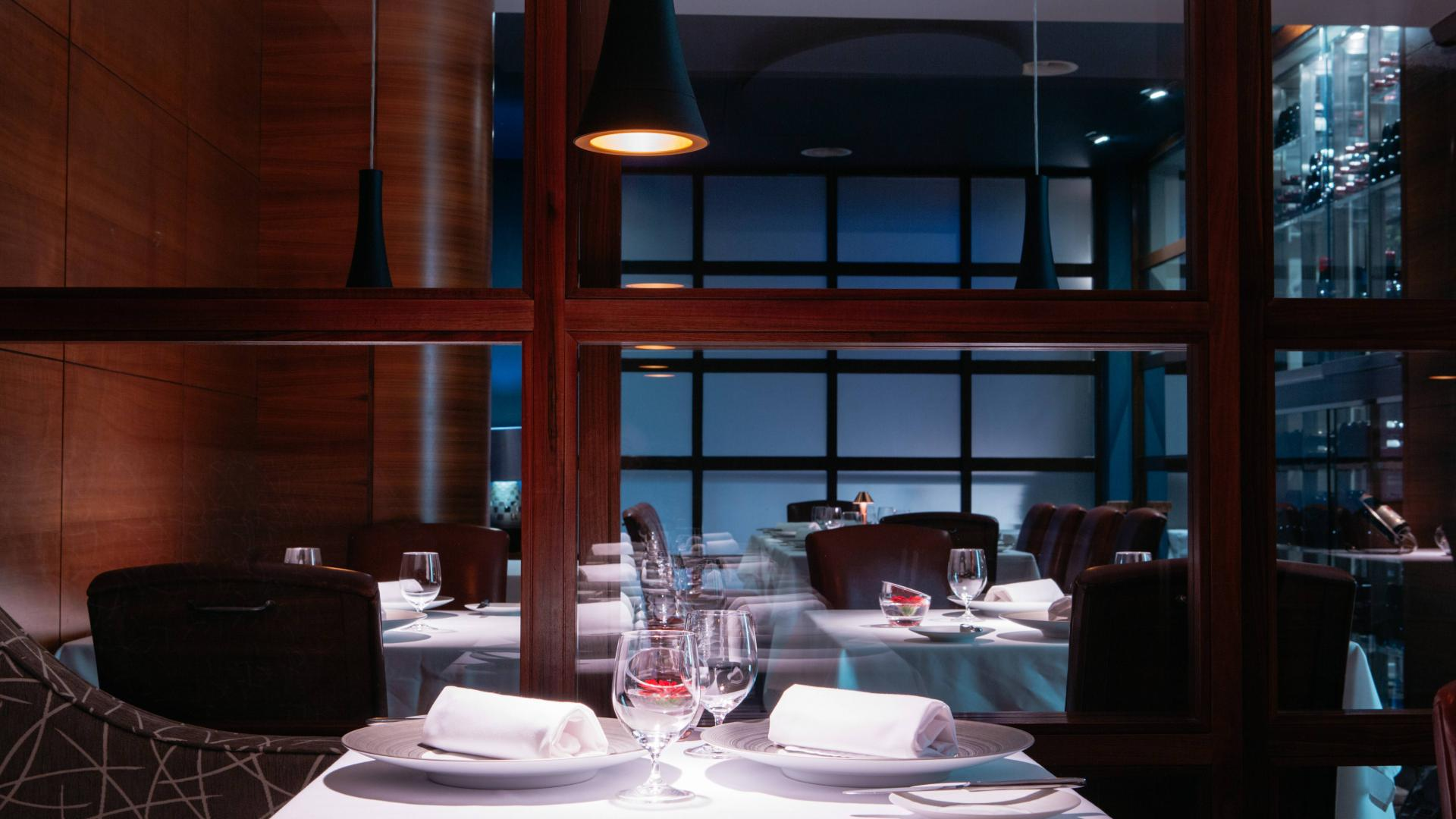 Things to do in Jersey: a table at Bohemia restaurant