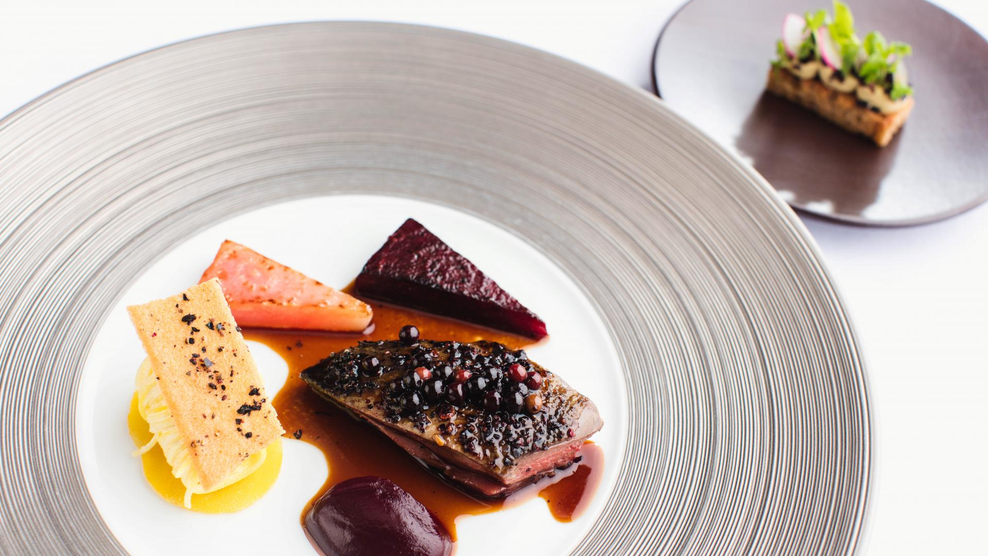 Things to do in Jersey: a dish at Bohemia restaurant