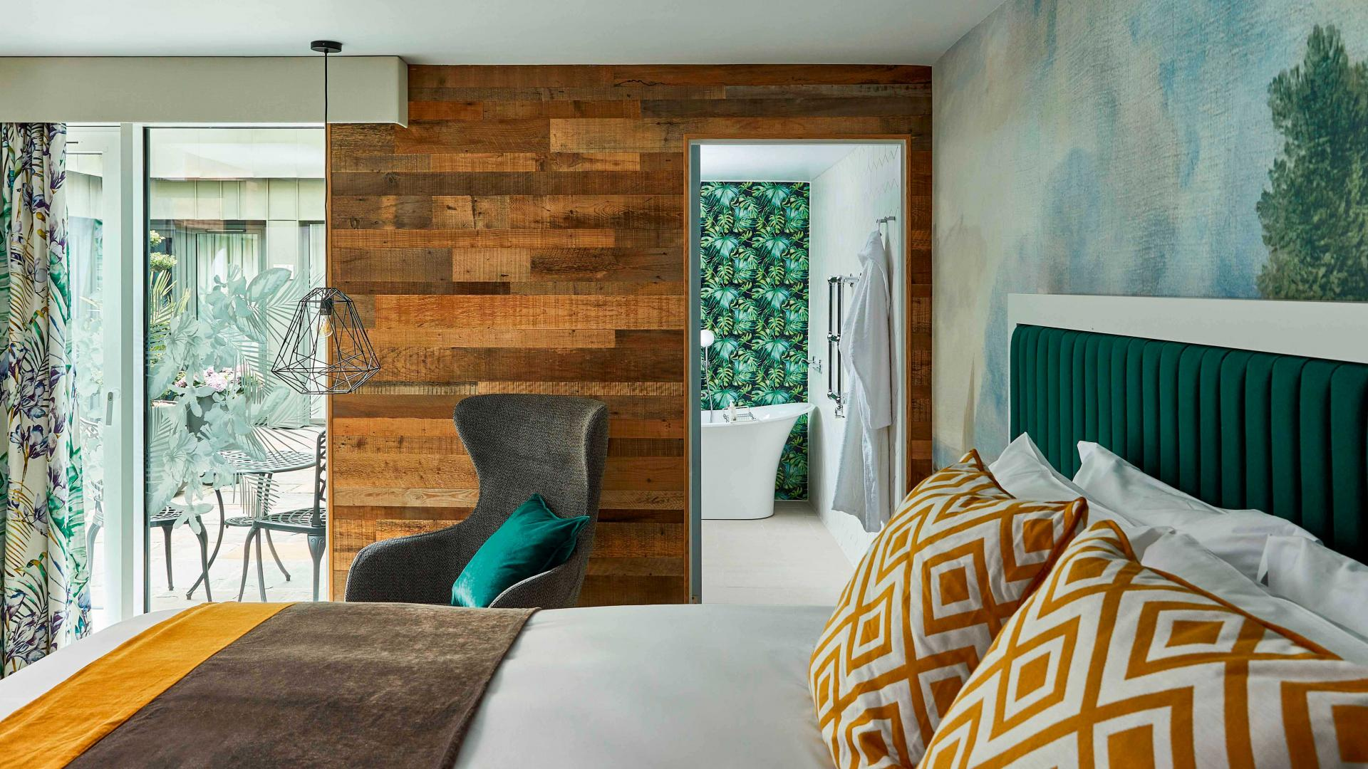 Hotel Indigo Bath review: one of the hotel rooms